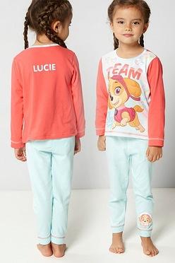 97843114cb0 Personalised Young Girls Paw Patrol Skye Pyjamas