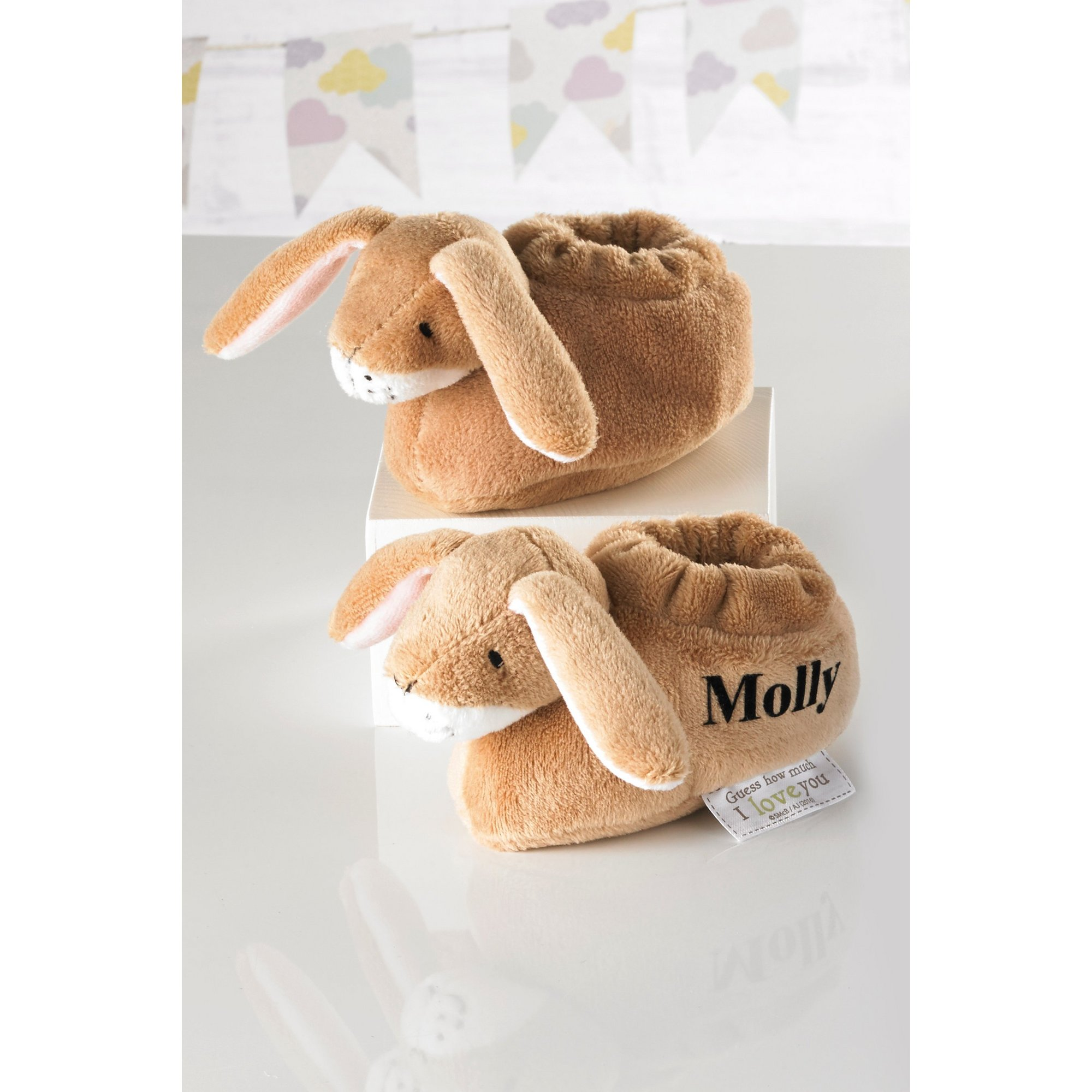 Image of Personalised Babys First Booties