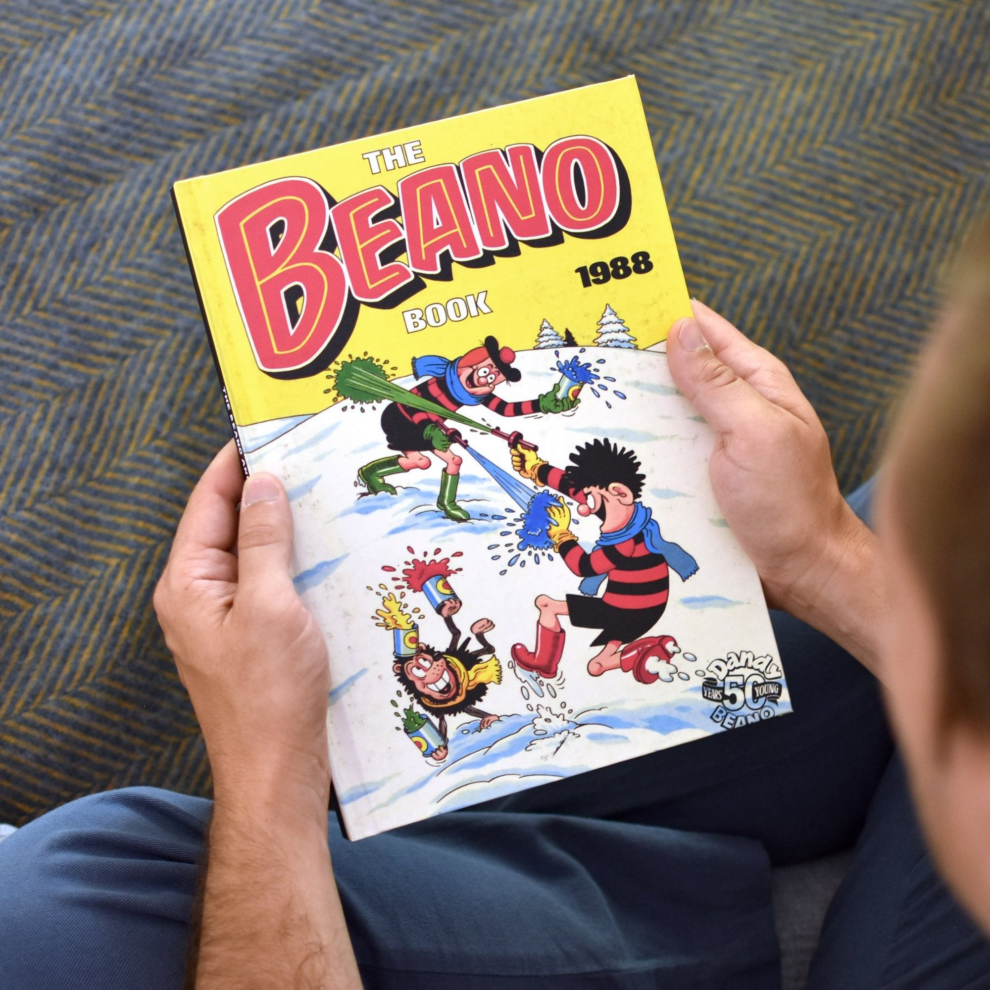 Image of Personalised Beano Annual From Your Year