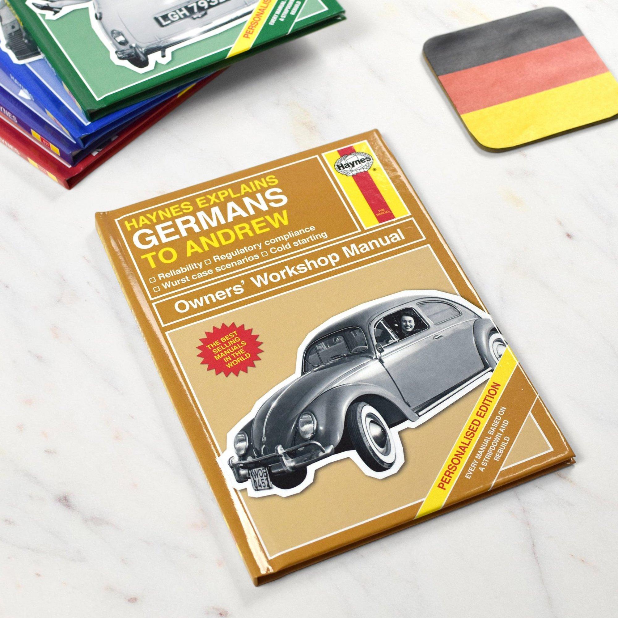 Image of Personalised Haynes Explains Germans