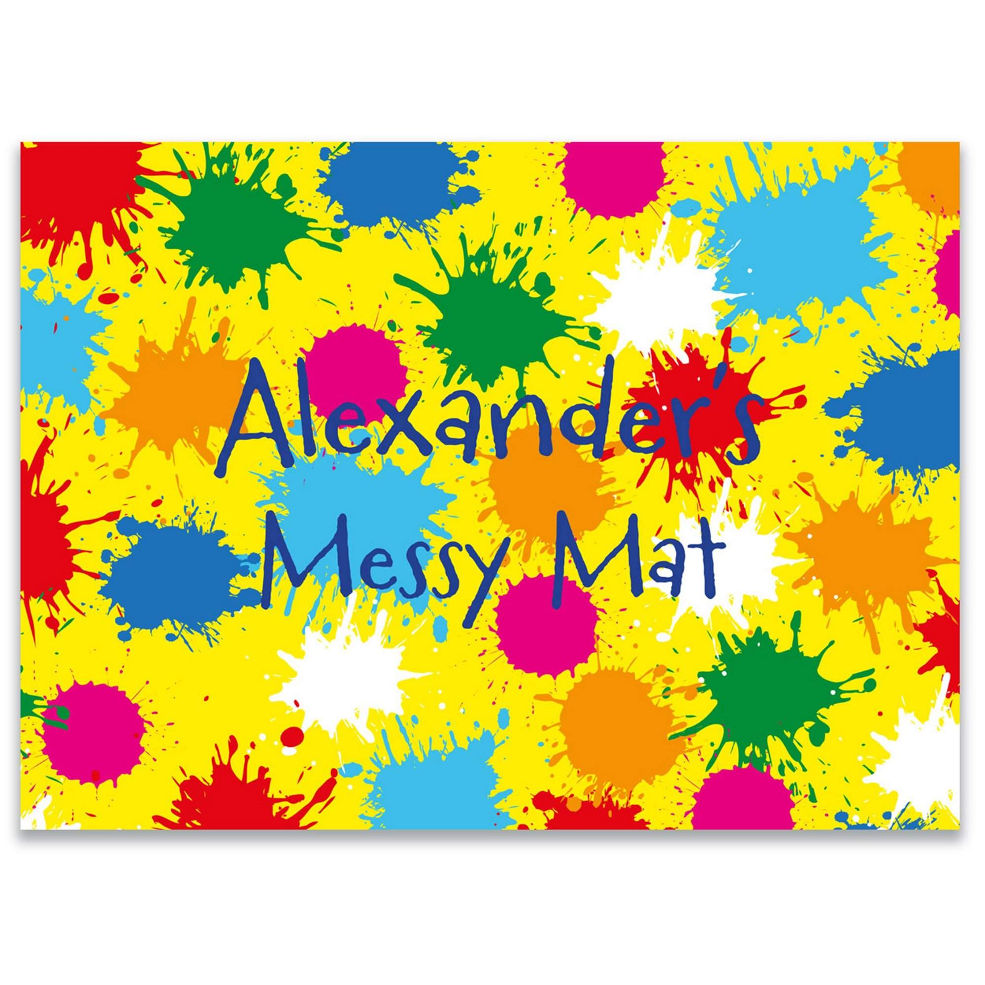 Image of Personalised Messy Play Mat