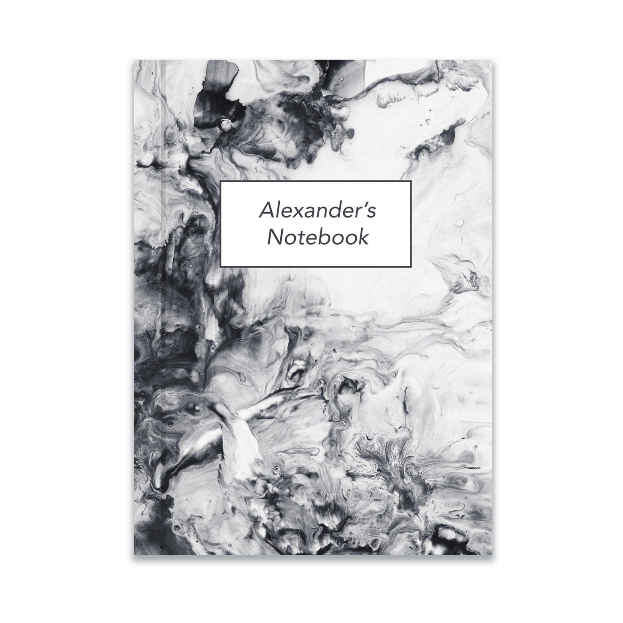 Image of Personalised Carrara Notebook