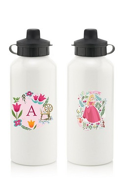 c0741d8dad266c Personalised Disney Princess Aurora Initial Water Bottle
