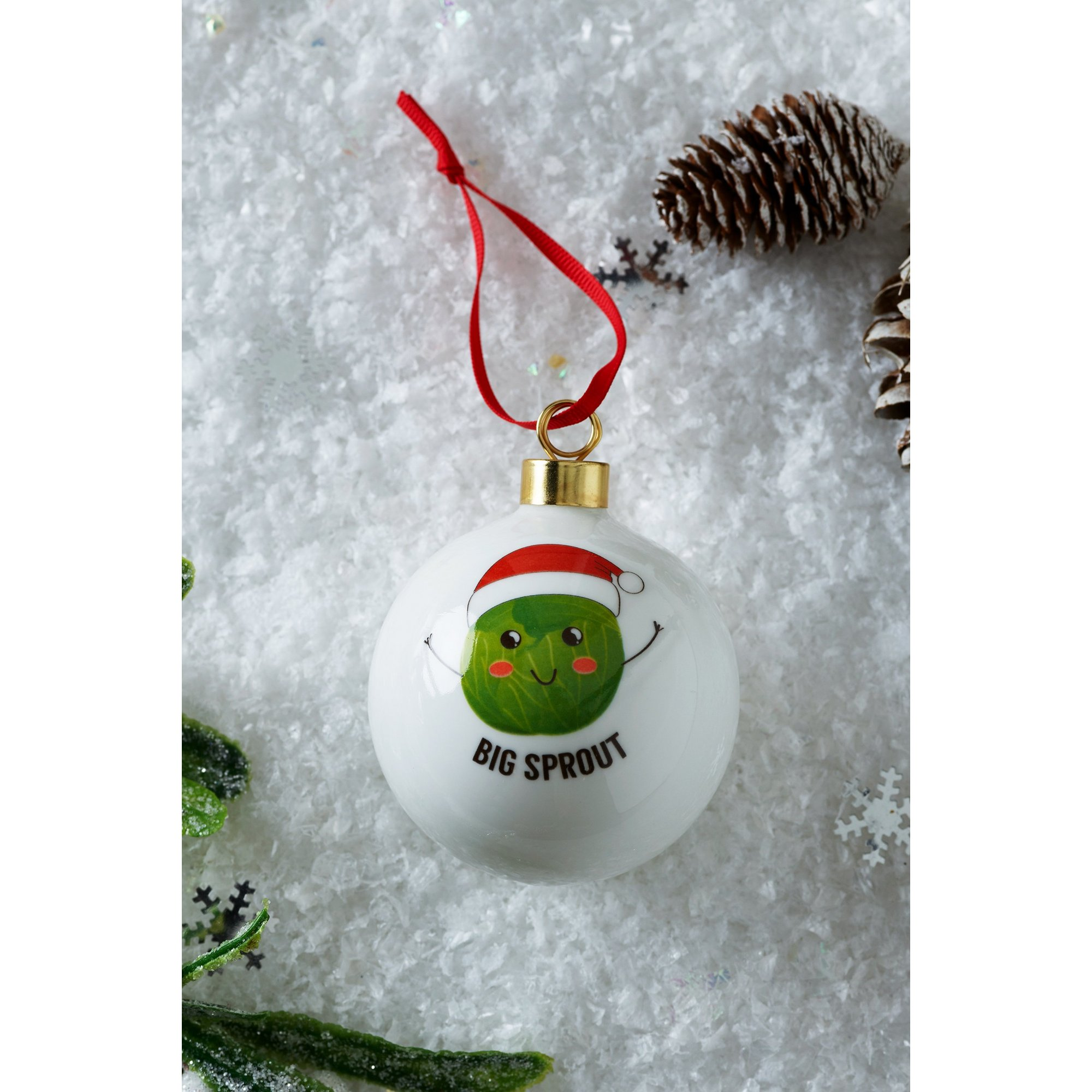 Image of Personalised Big Sprout Bauble
