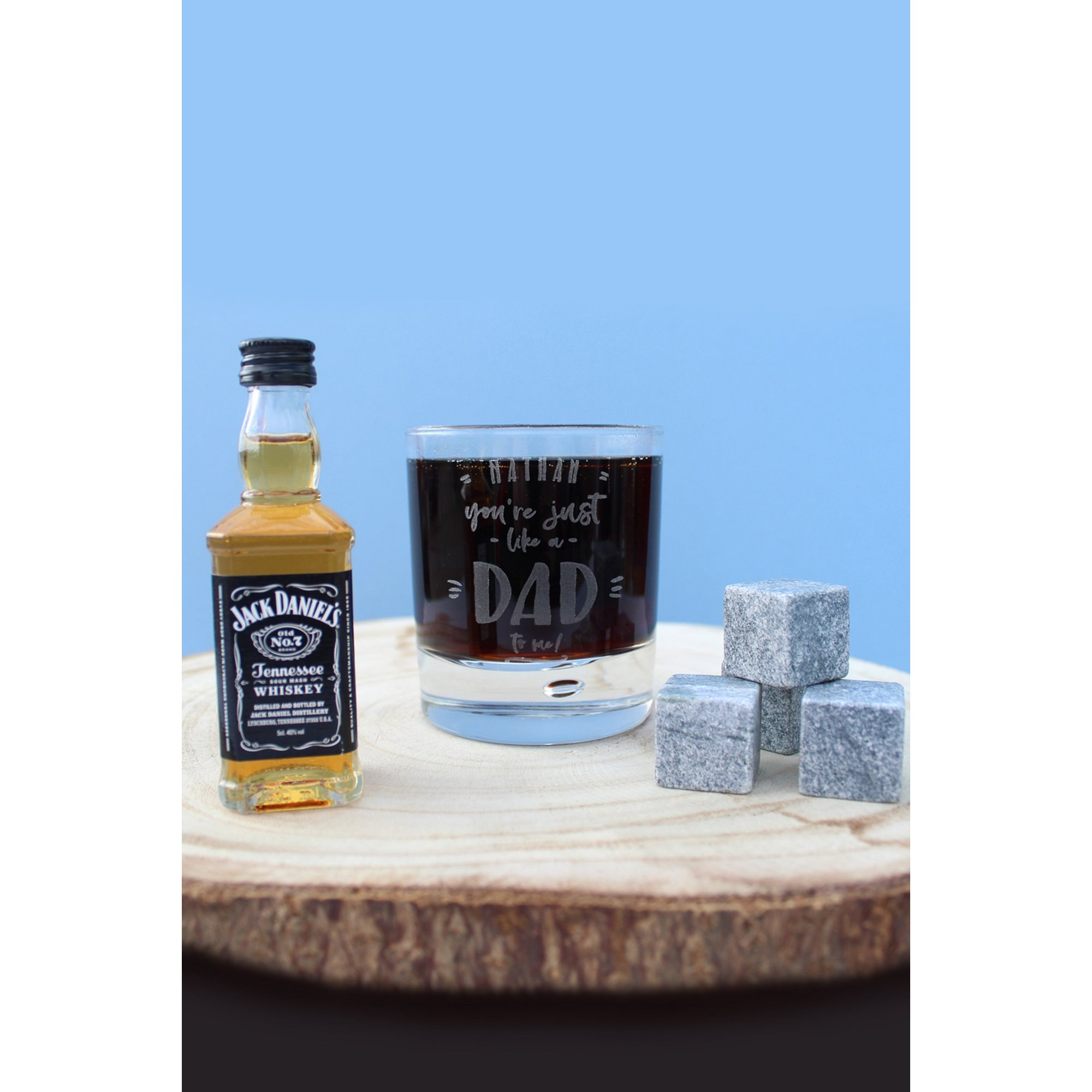 Image of Personalised Just Like a Dad to Me JD Gift Set