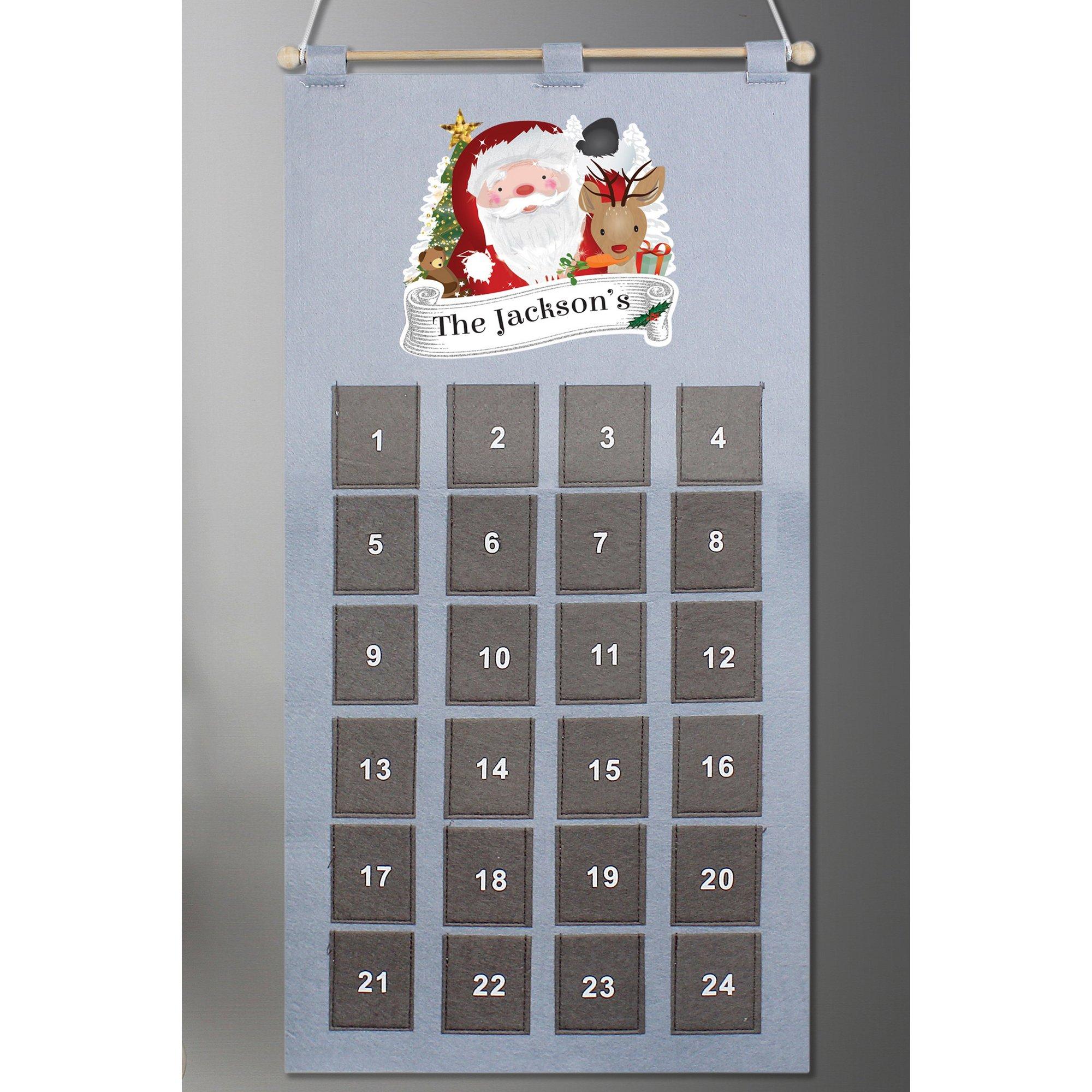 Image of Personalised Santa Advent Calendar