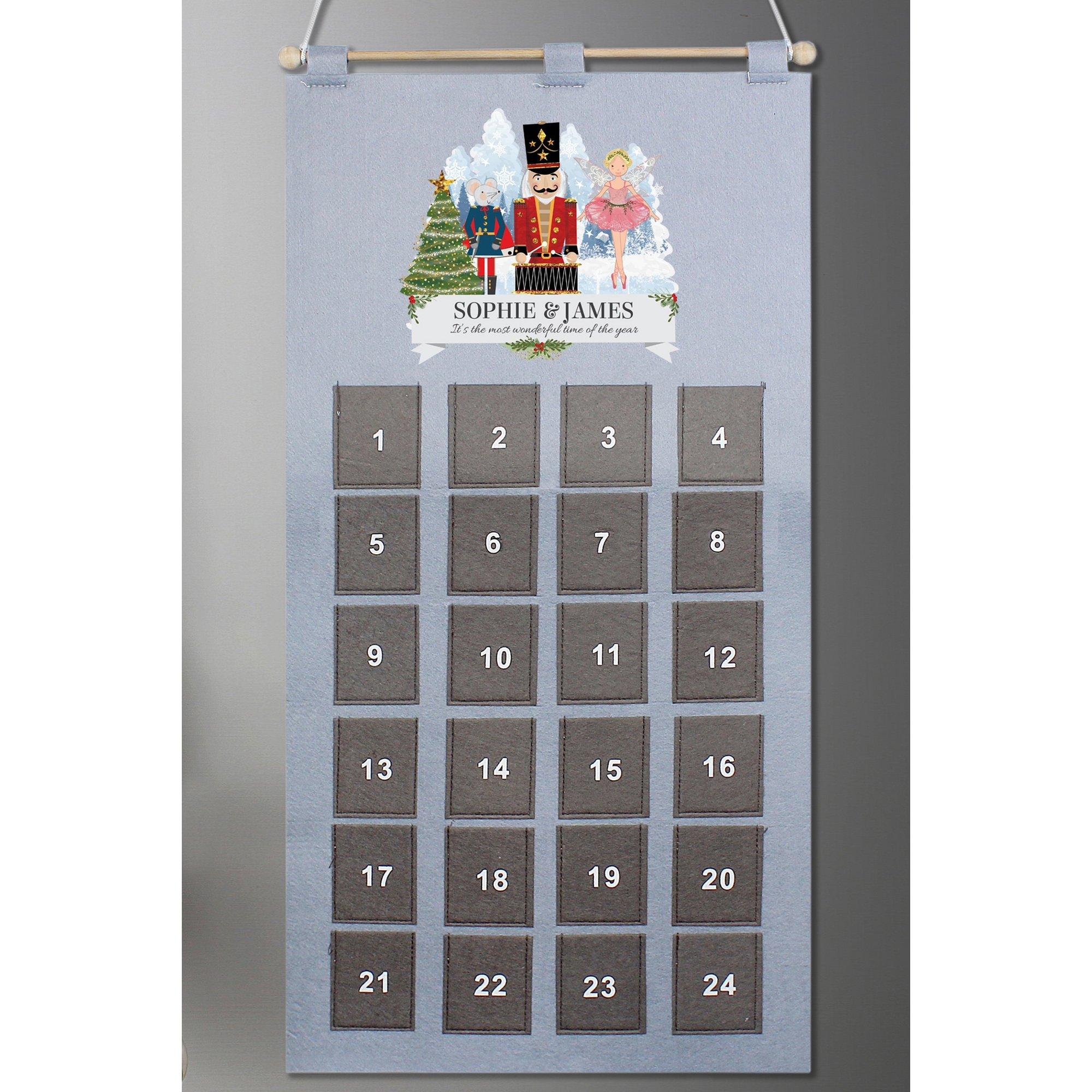 Image of Personalised Nutcracker Advent Calendar