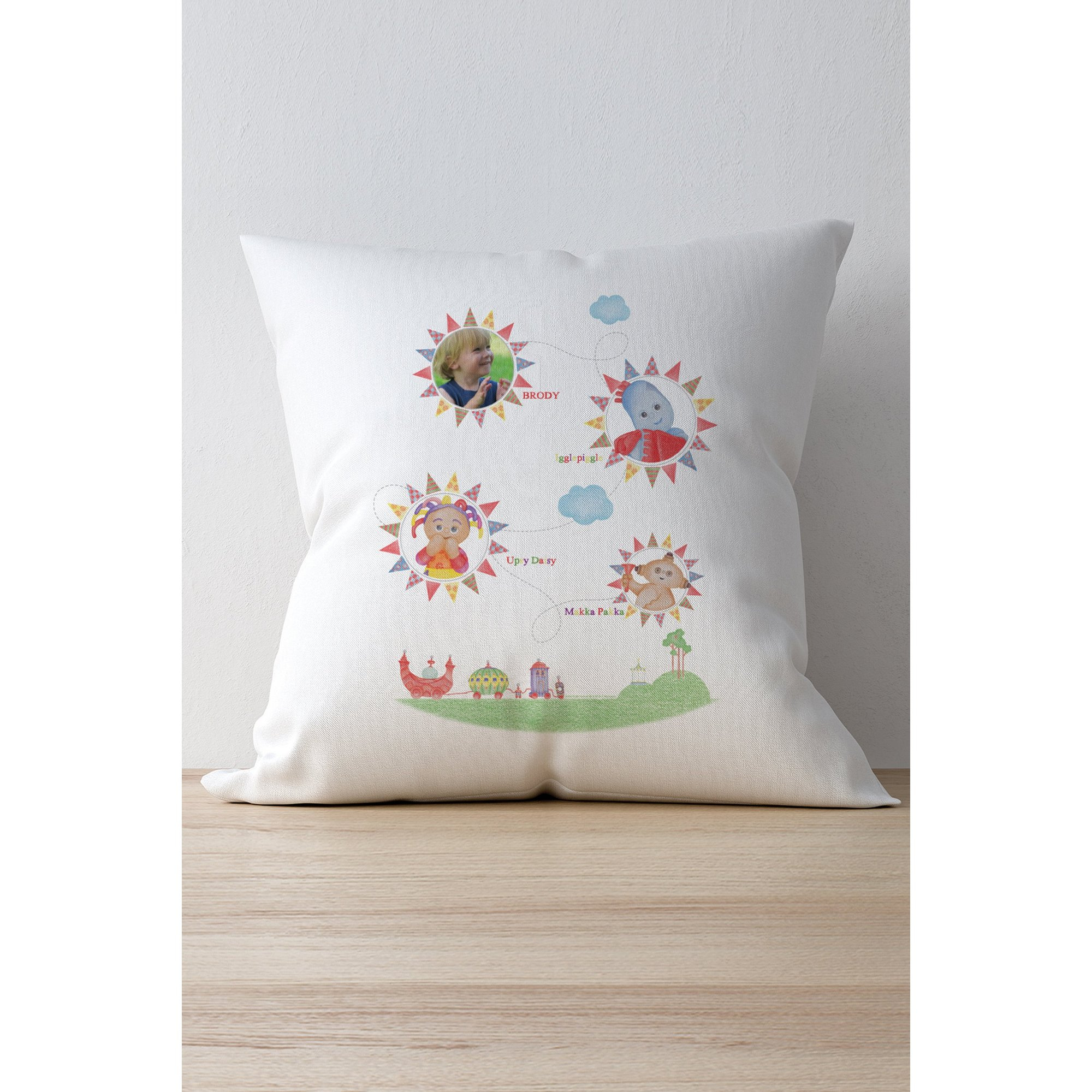 Image of In The Night Garden Colouring Book Photo Cushion