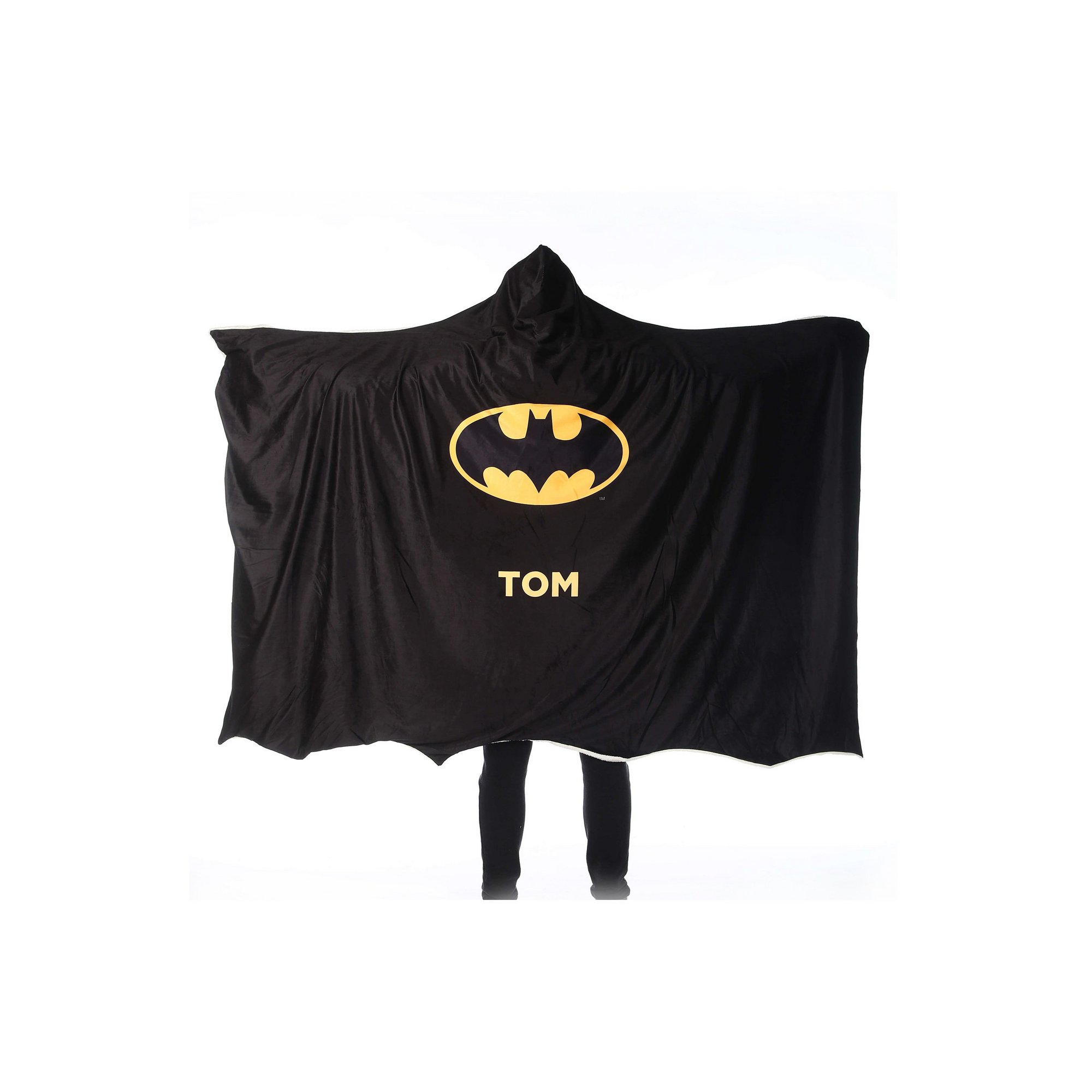 Image of Batman Adult Hooded Blanket - Batman Cape