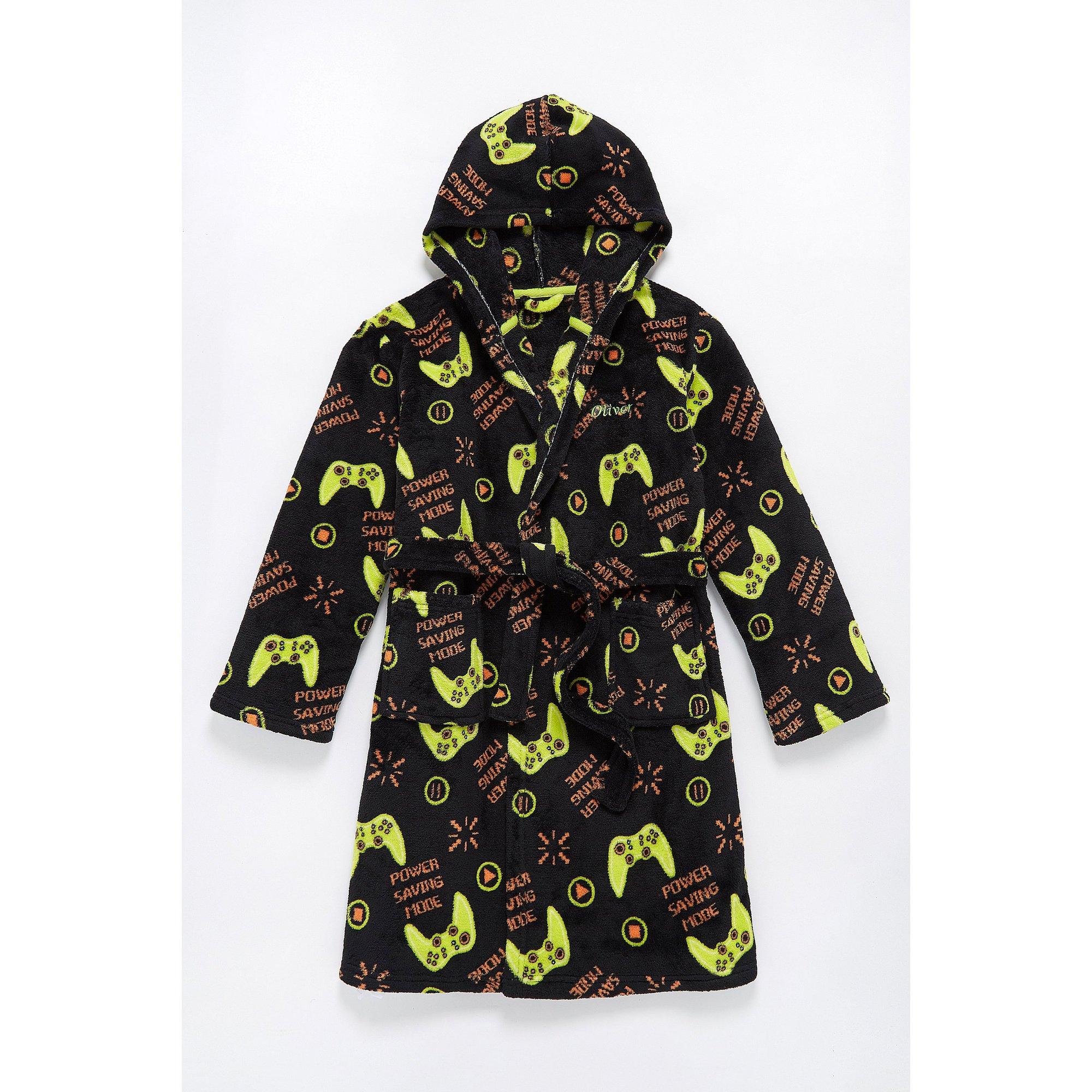 Image of Boys Personalised Gaming Robe