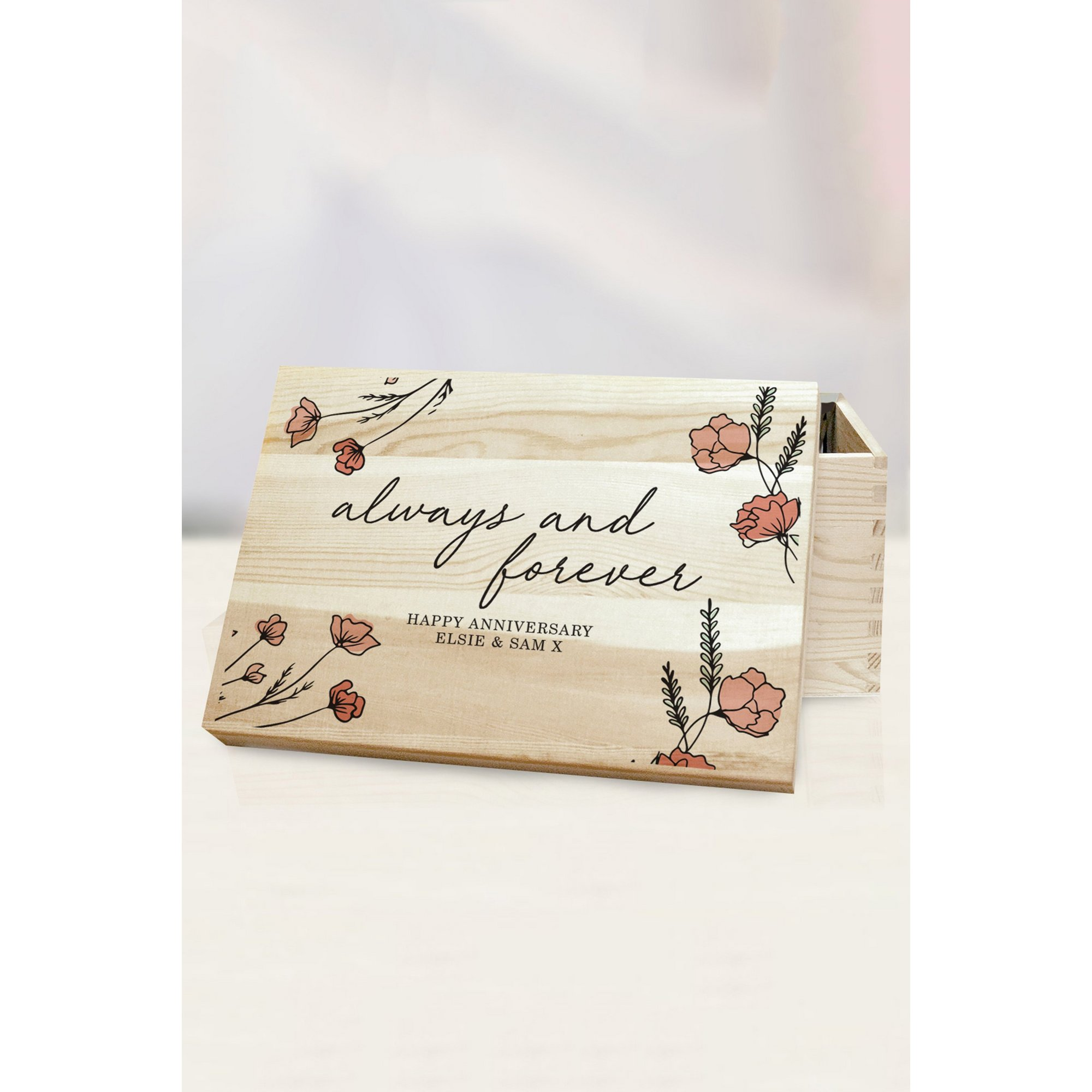 Image of Personalised Always and Forever Memory Box