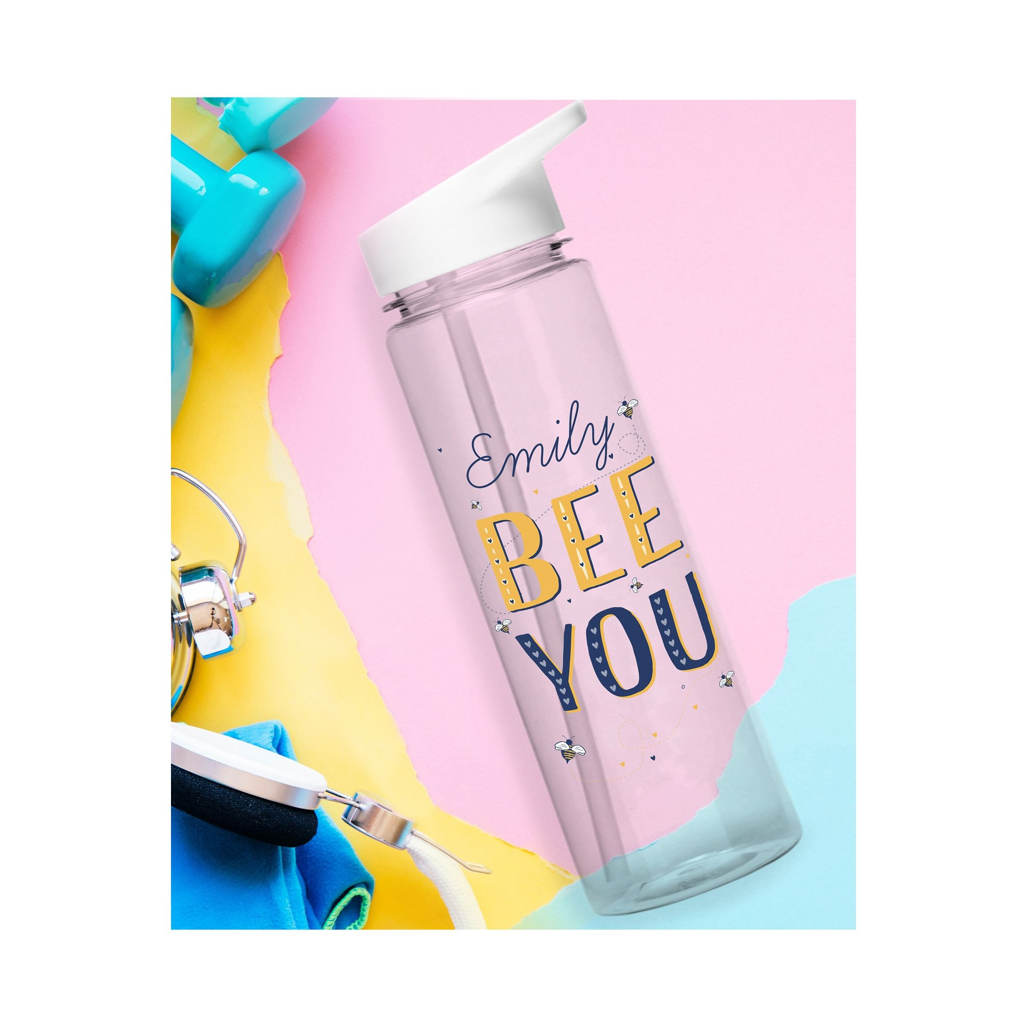 Image of Personalised Bee You Water Bottle