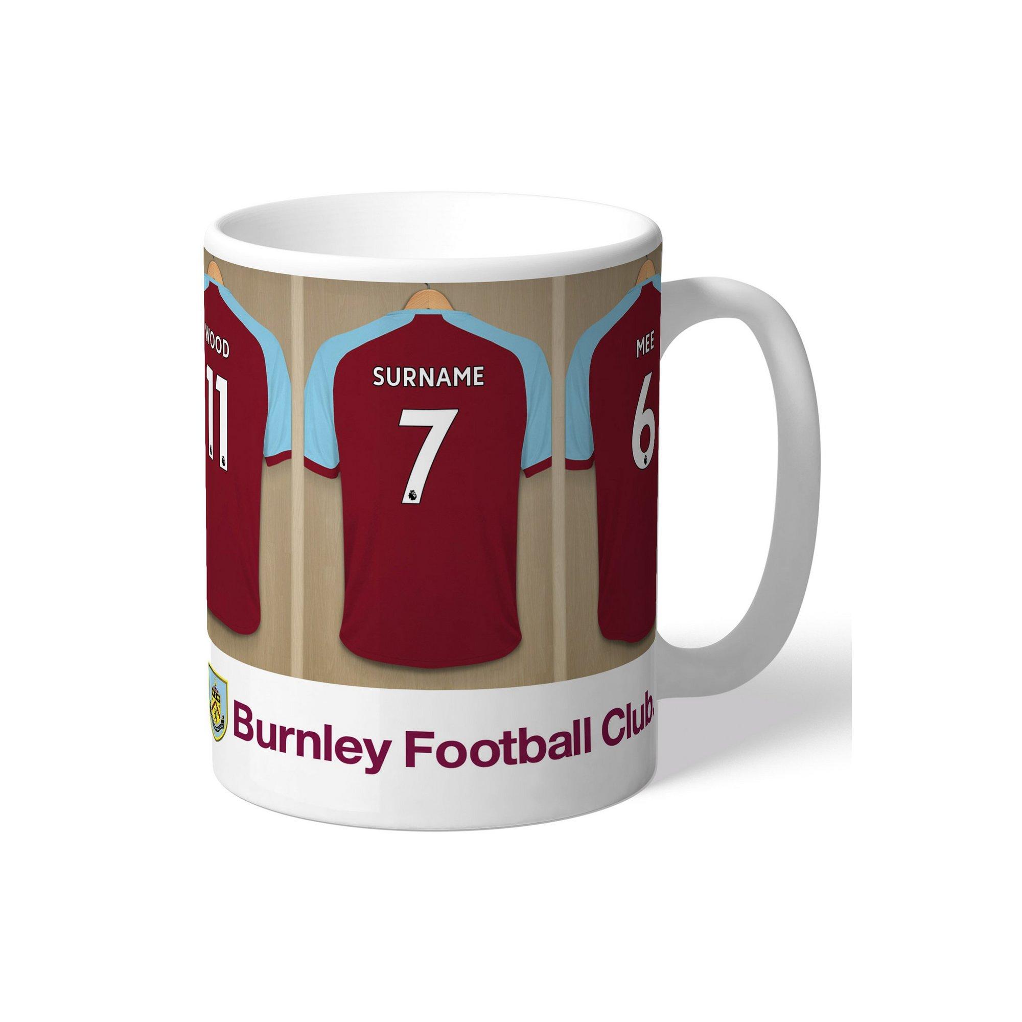 Image of Personalised Burnley FC Dressing Room Mug
