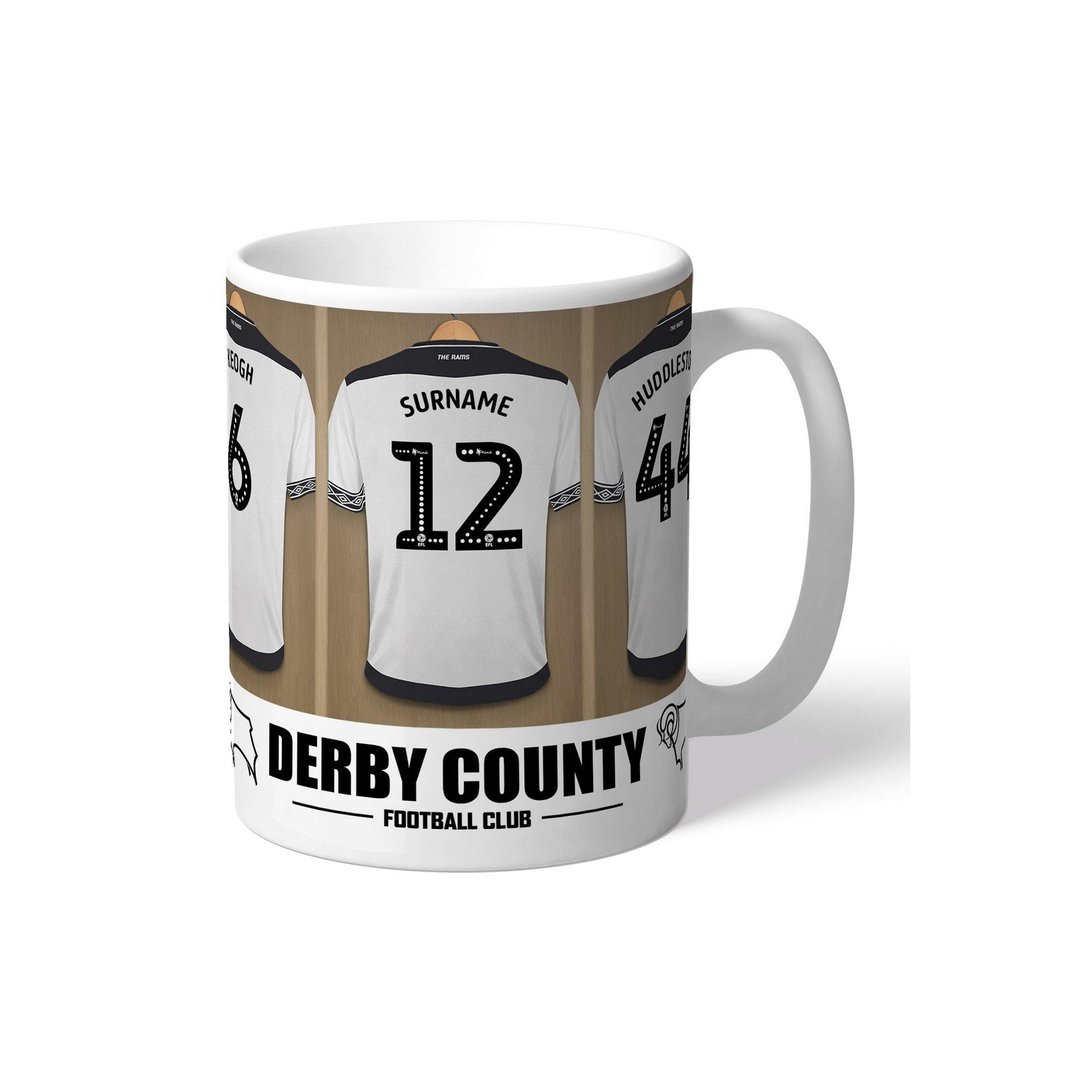 Image of Personalised Derby County Dressing Room Mug