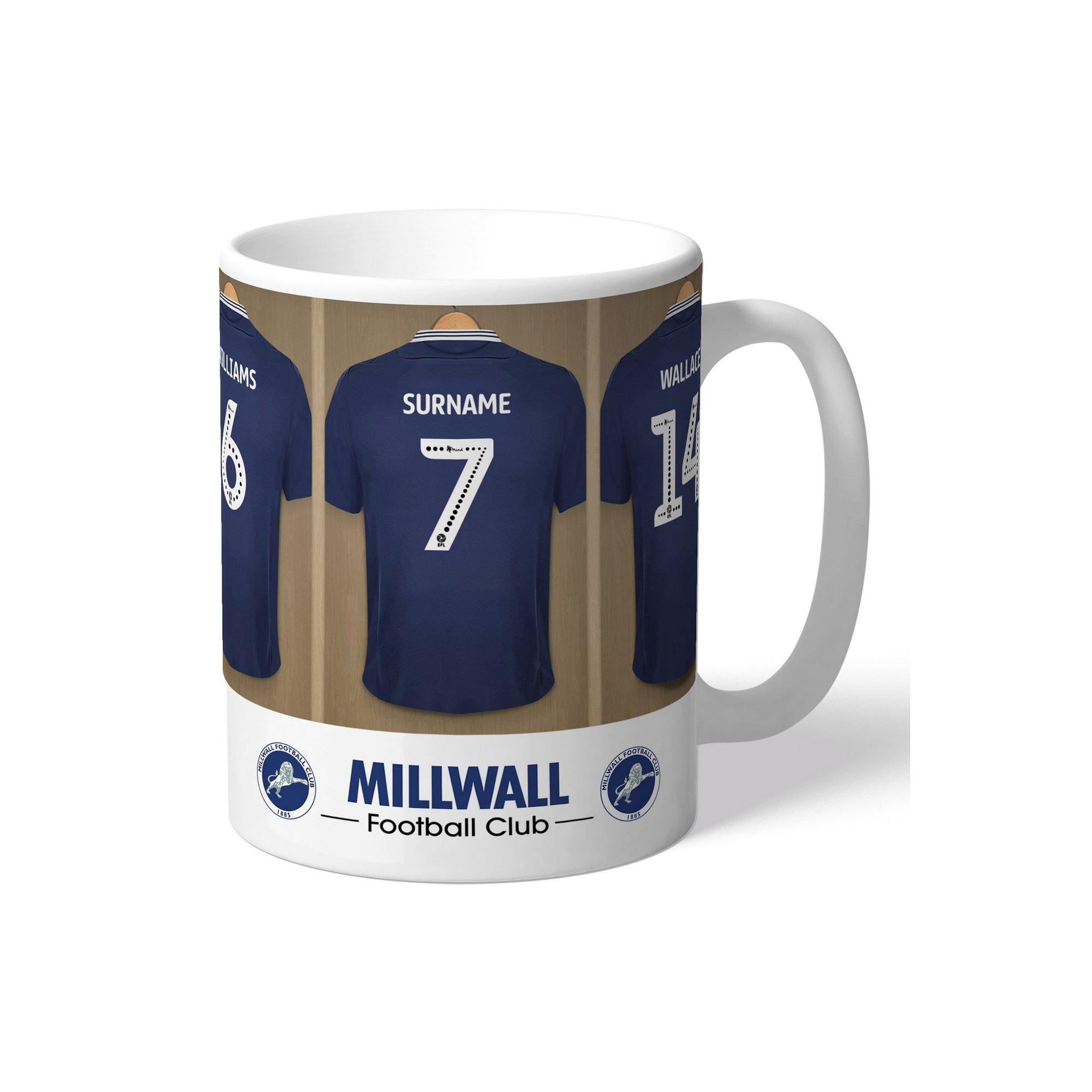 Image of Personalised Millwall FC Dressing Room Mug