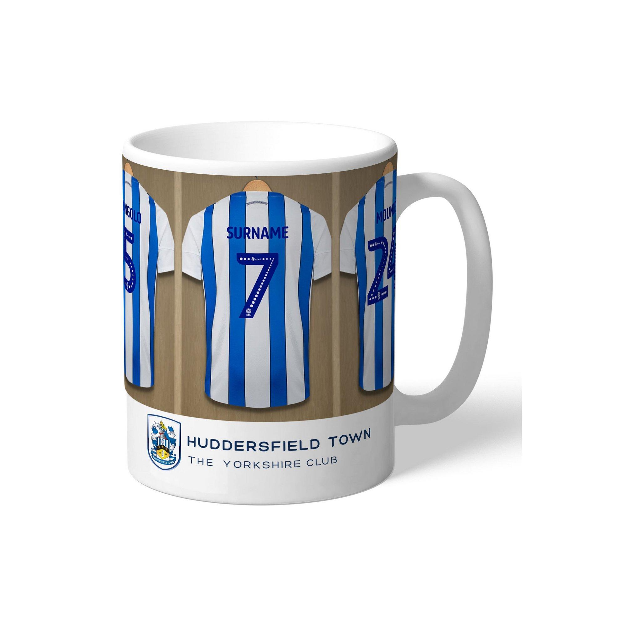 Image of Personalised Huddersfield Town AFC Dressing Room Mug