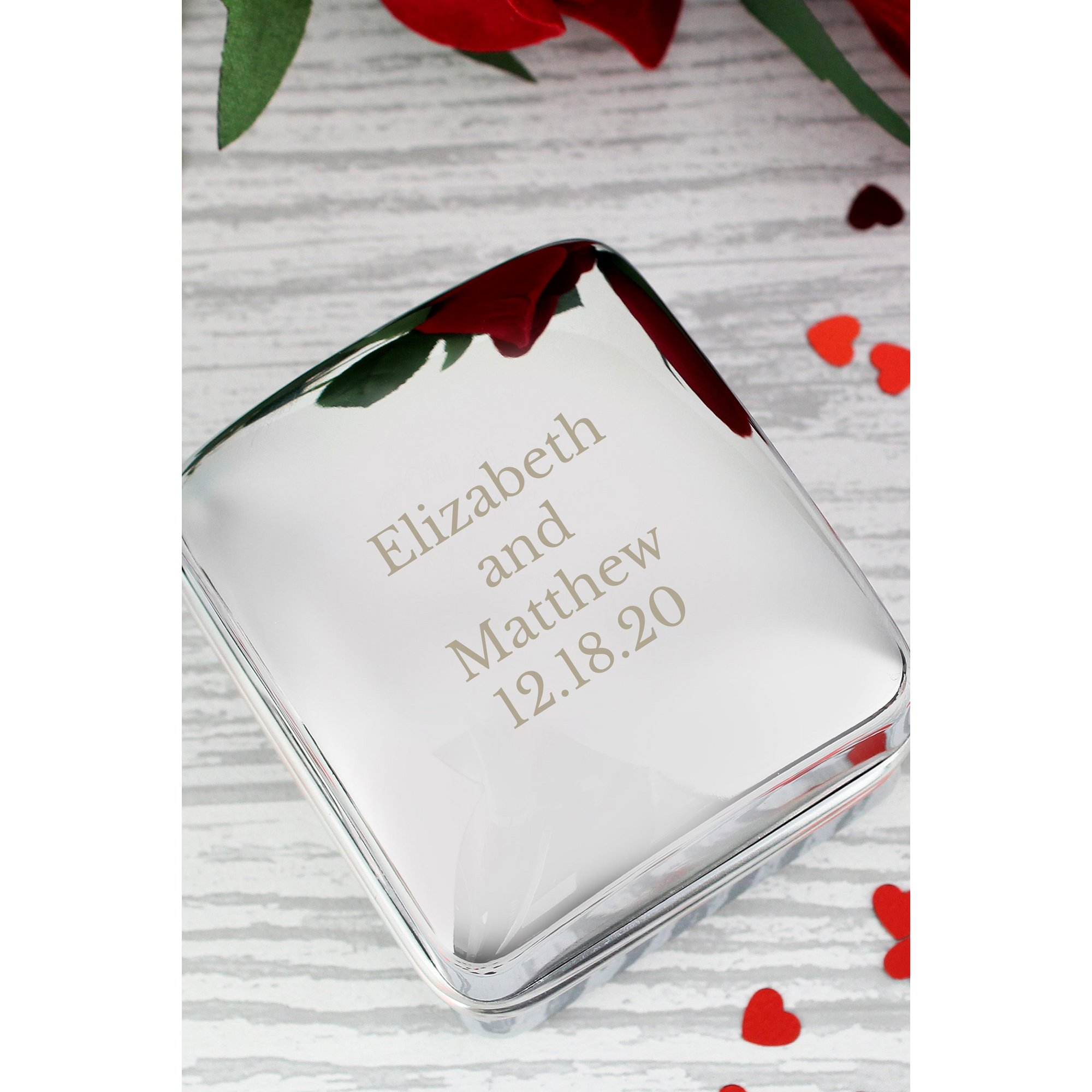 Image of Personalised Any Message Ring Box