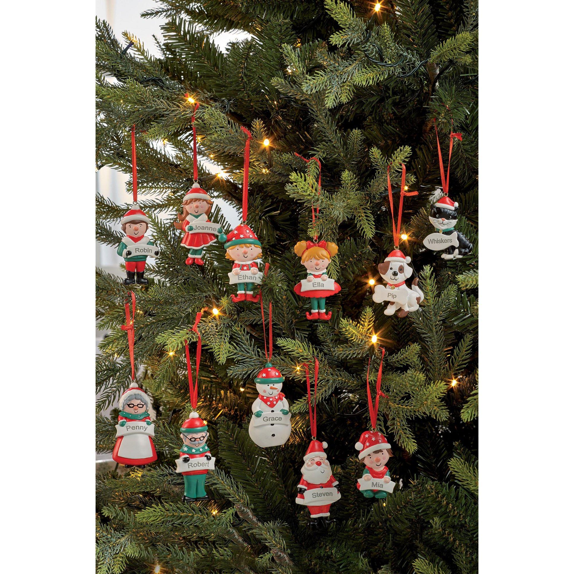 Image of Personalised Christmas Decoration