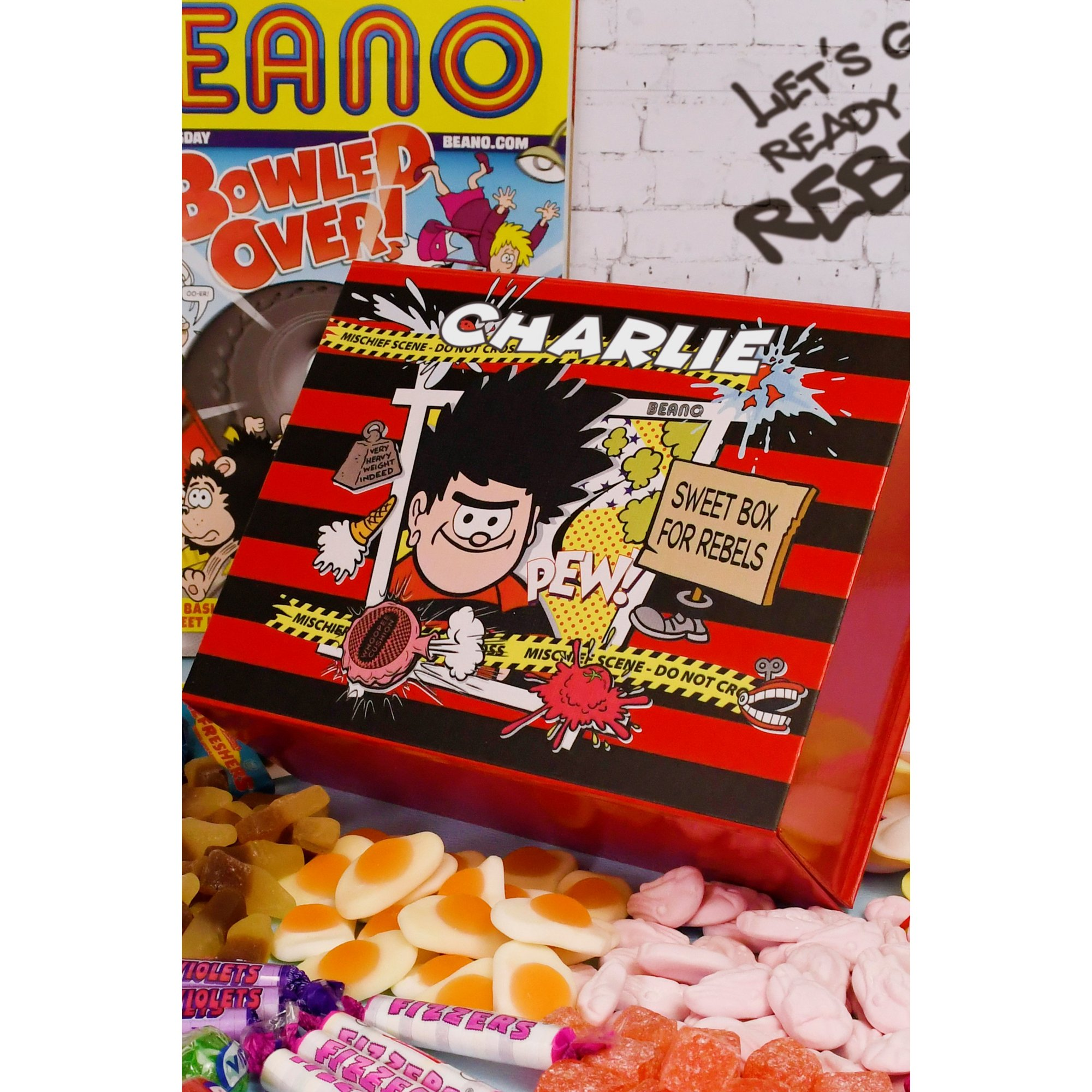 Image of Personalised Beano Sweet Box