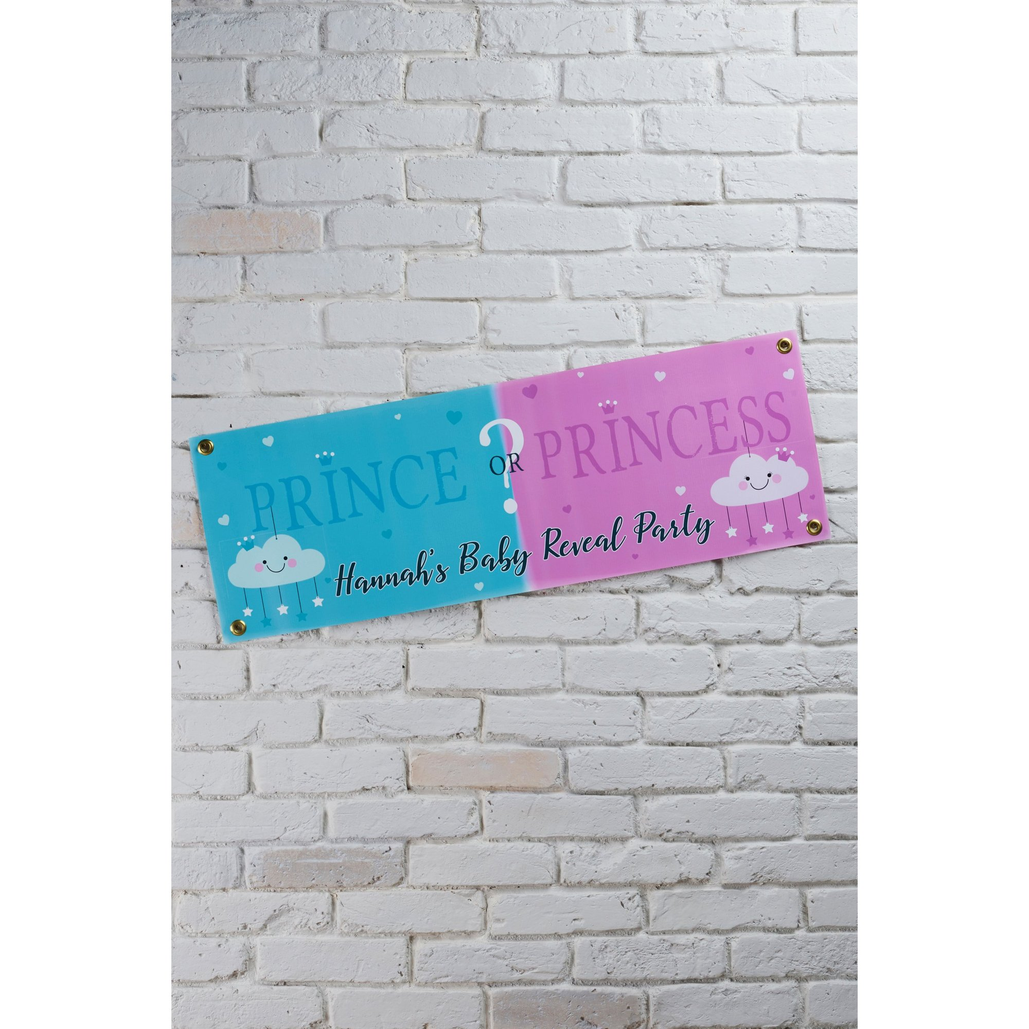 Image of Personalised Gender Reveal Banner