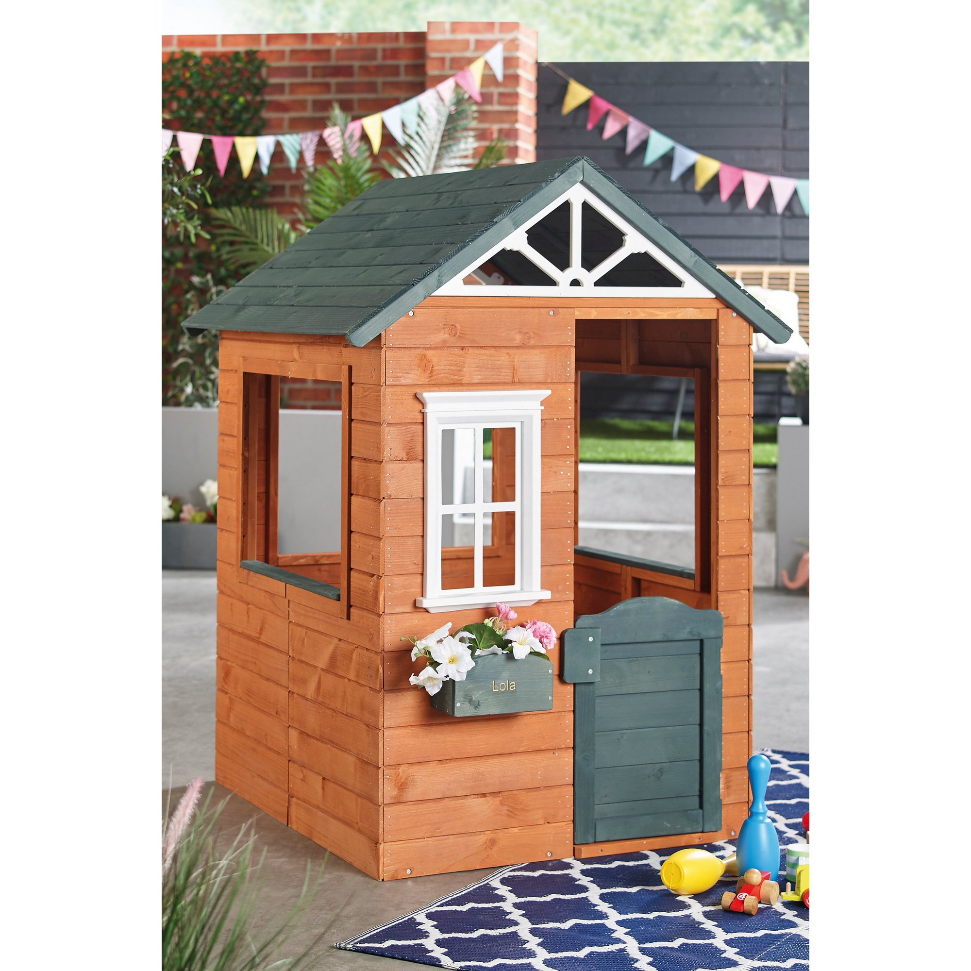 Image of Personalised Wooden Playhouse