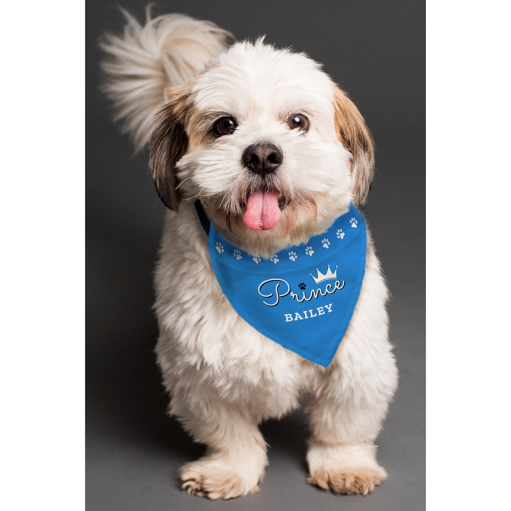 Image of Personalised Prince Dog Bandana