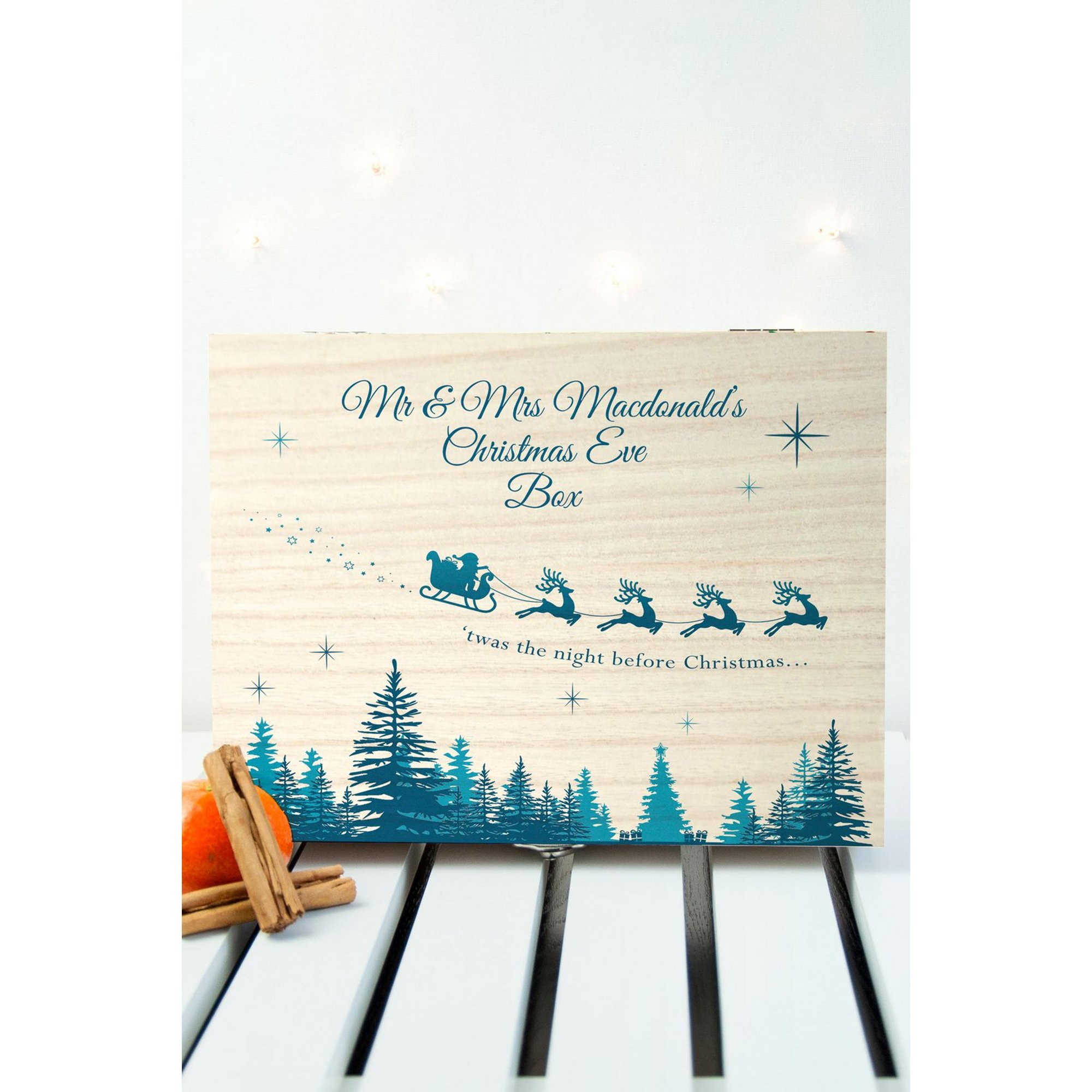 Image of Personalised Mini Twas The Night Before Christmas Box