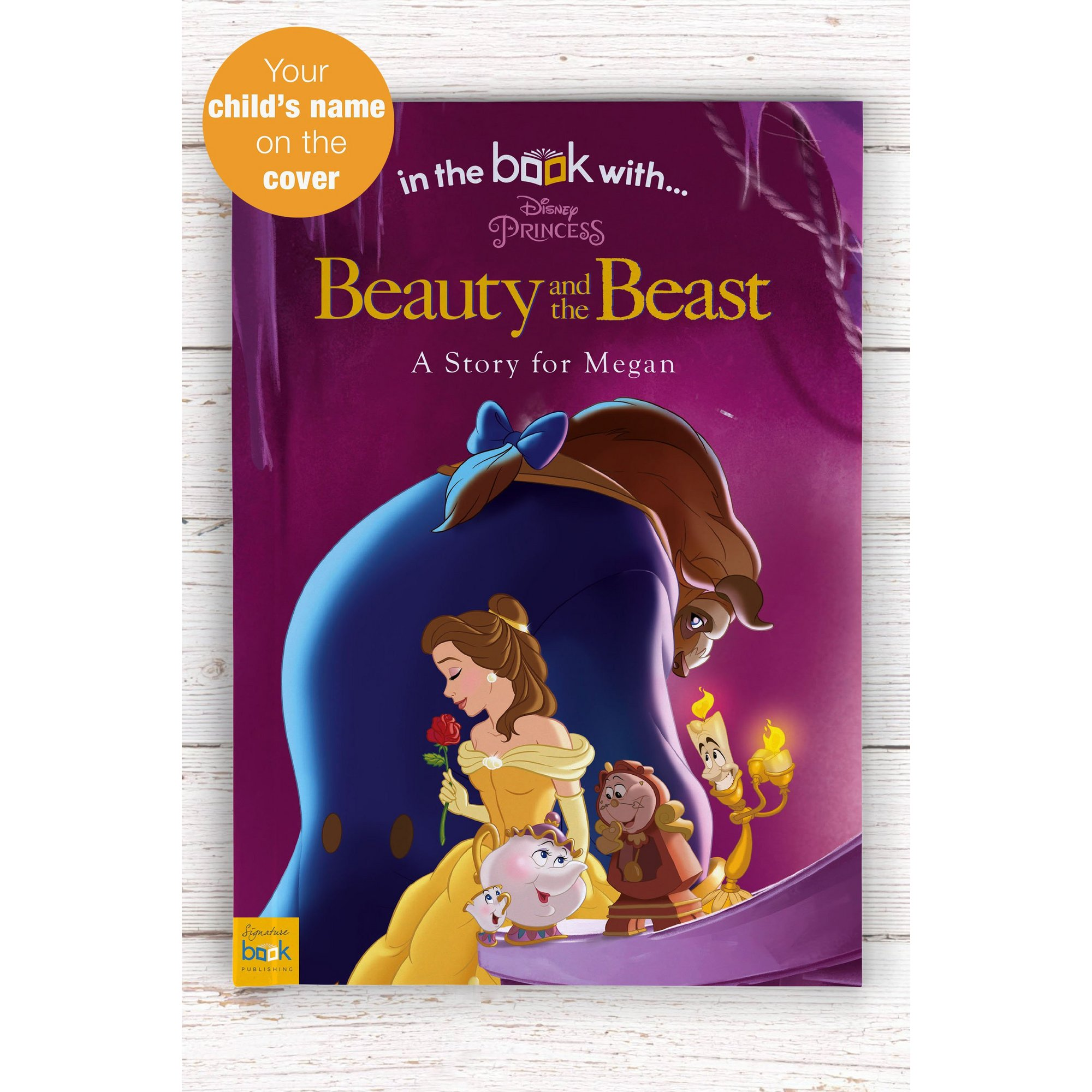 Image of Personalised Beauty and the Beast - Softback Book