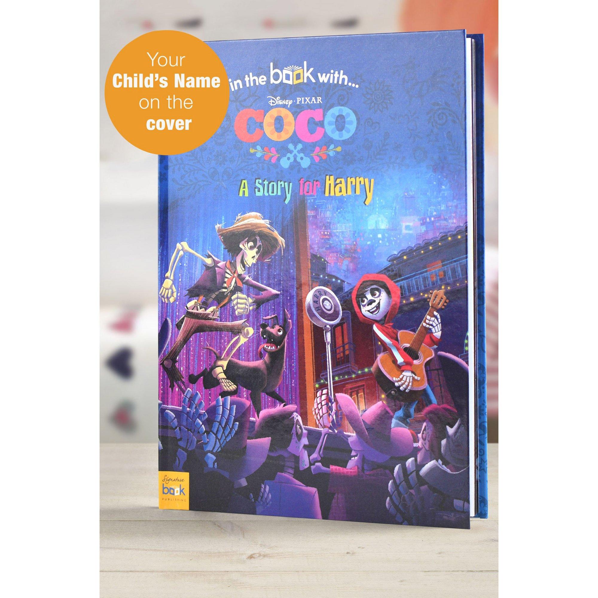 Image of Personalised Coco - Hardback Book