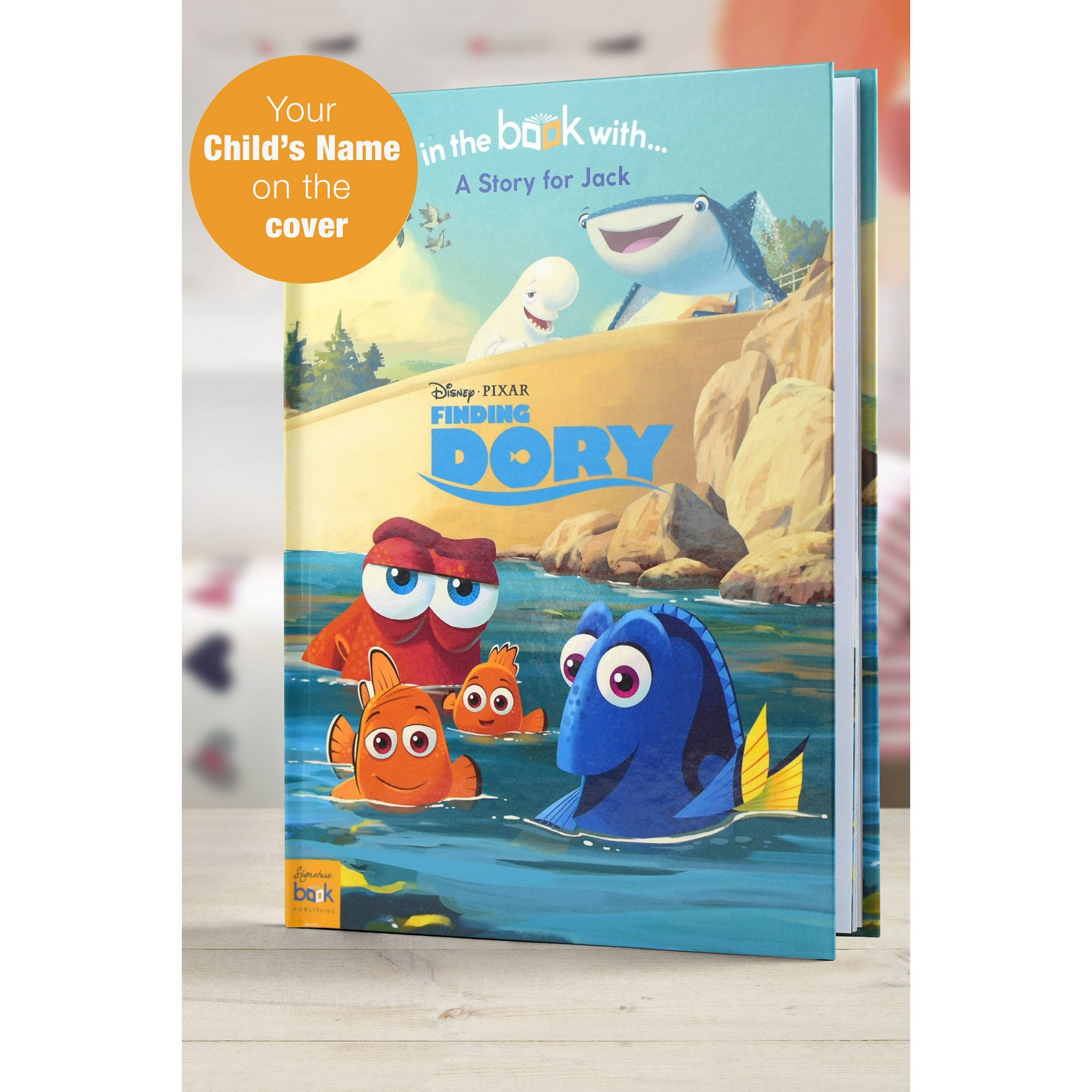 Image of Personalised Finding Dory - Softback Book