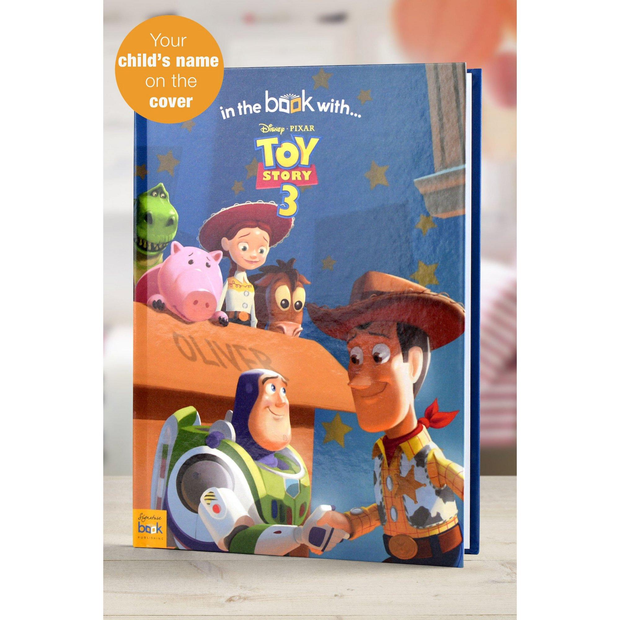 Image of Personalised Toy Story 3 Softback Book