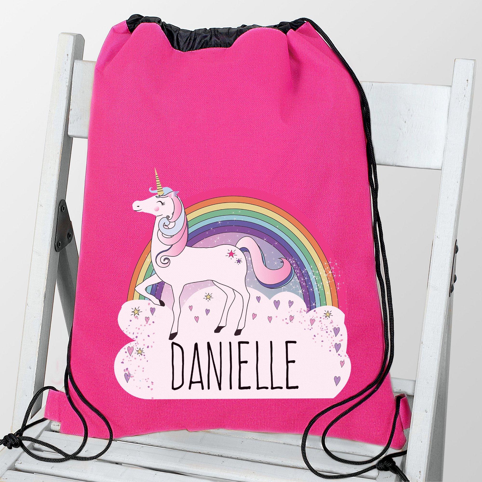 Image of Personalised Unicorn Swim and PE Bag