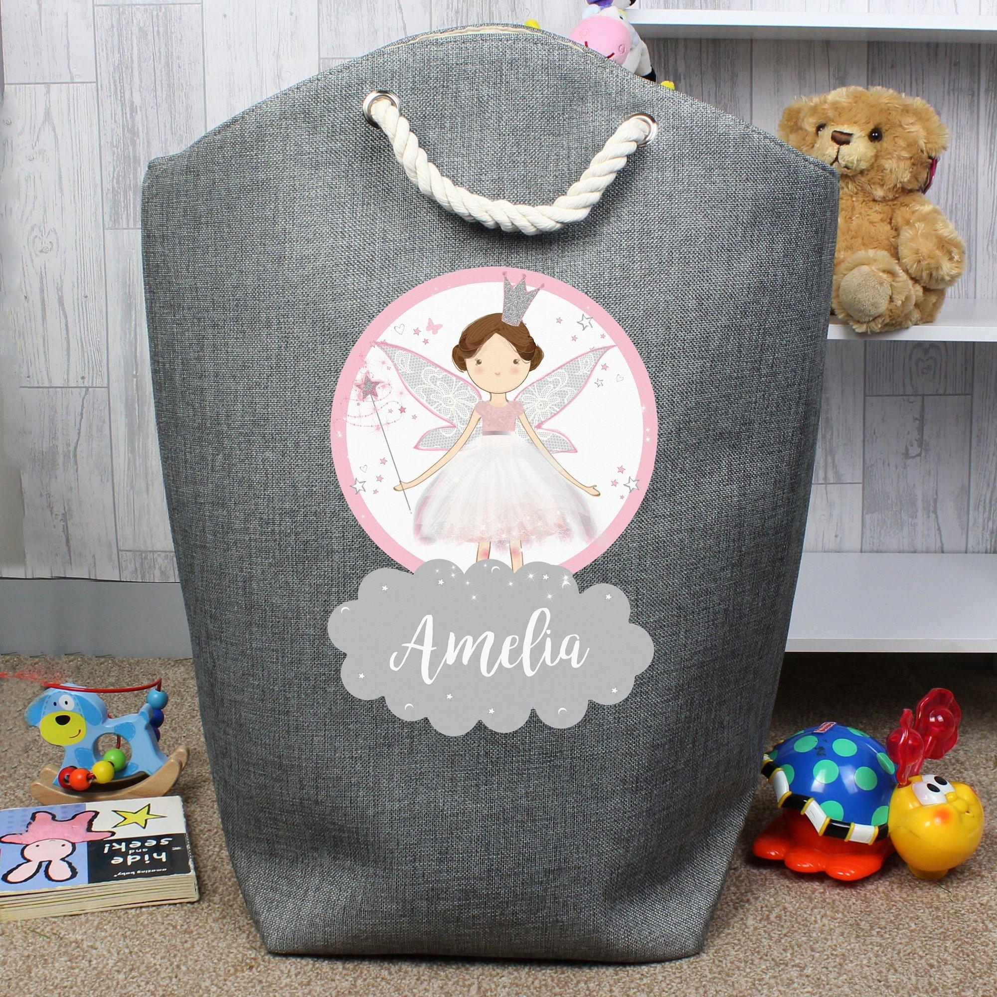 Image of Personalised Fairy Princess Storage Bag