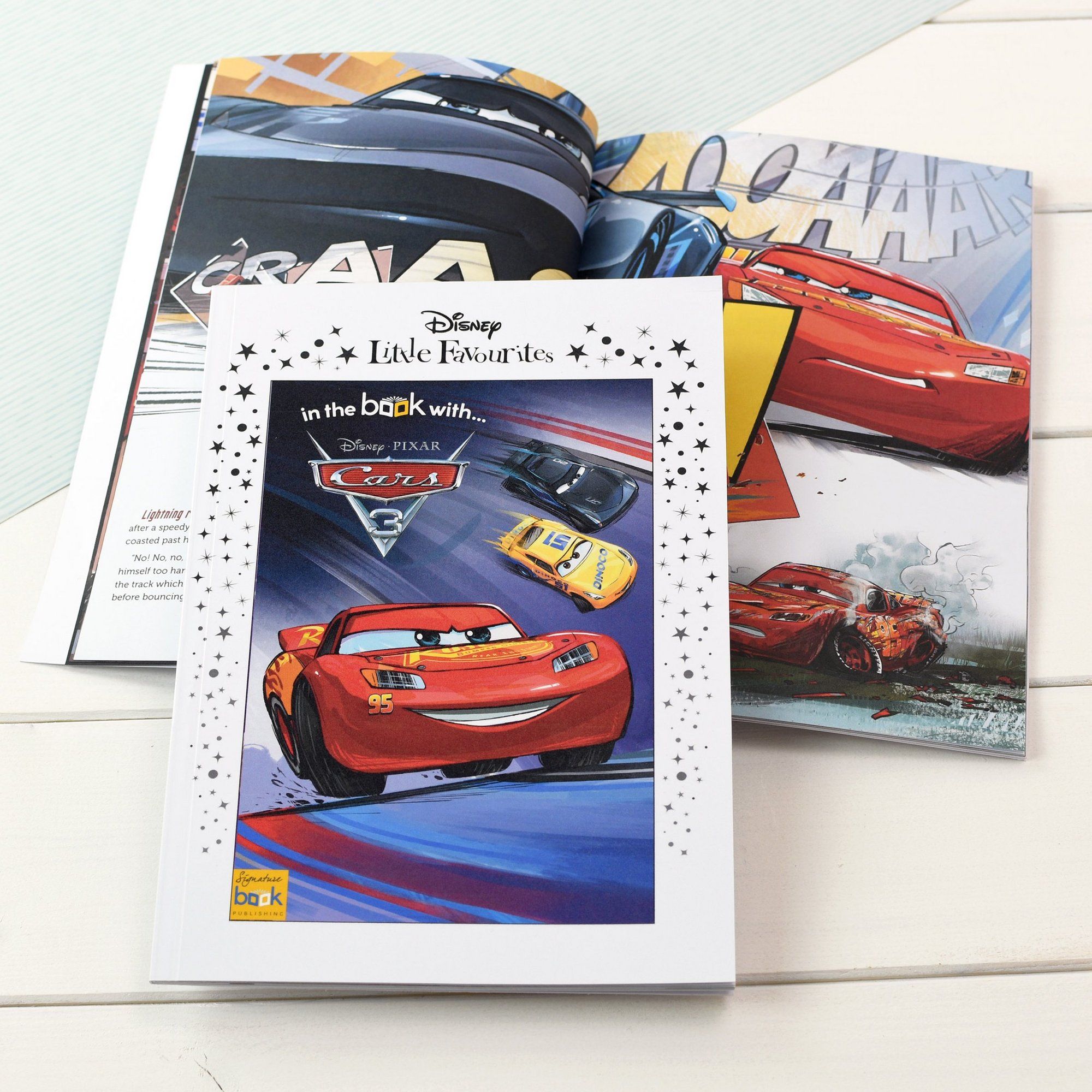 Image of Personalised Disney Little Favourites - Cars 3
