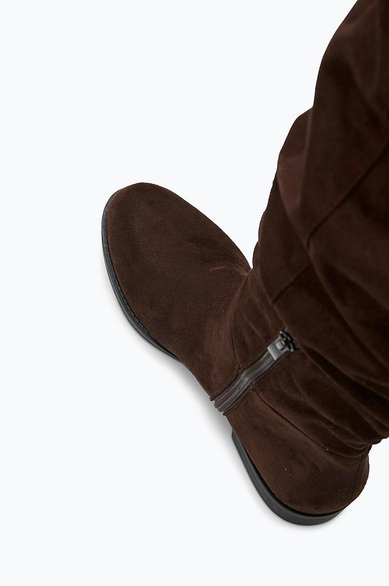 Ellos Shoes Over knee stövlar Knoxville Svart Stövlar