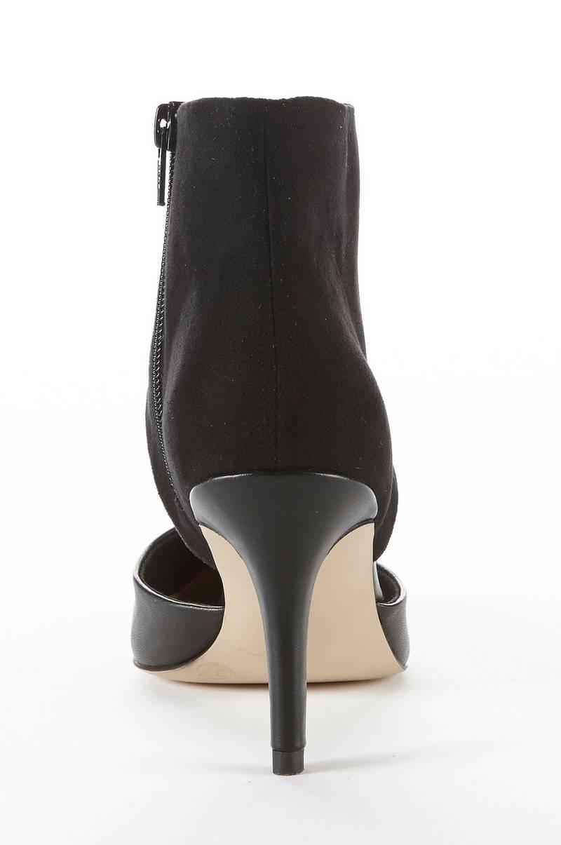 Ellos Ellos Ellos Dame Svart no stiletthæl Shoes med Pumps Ellos zU8rzqS