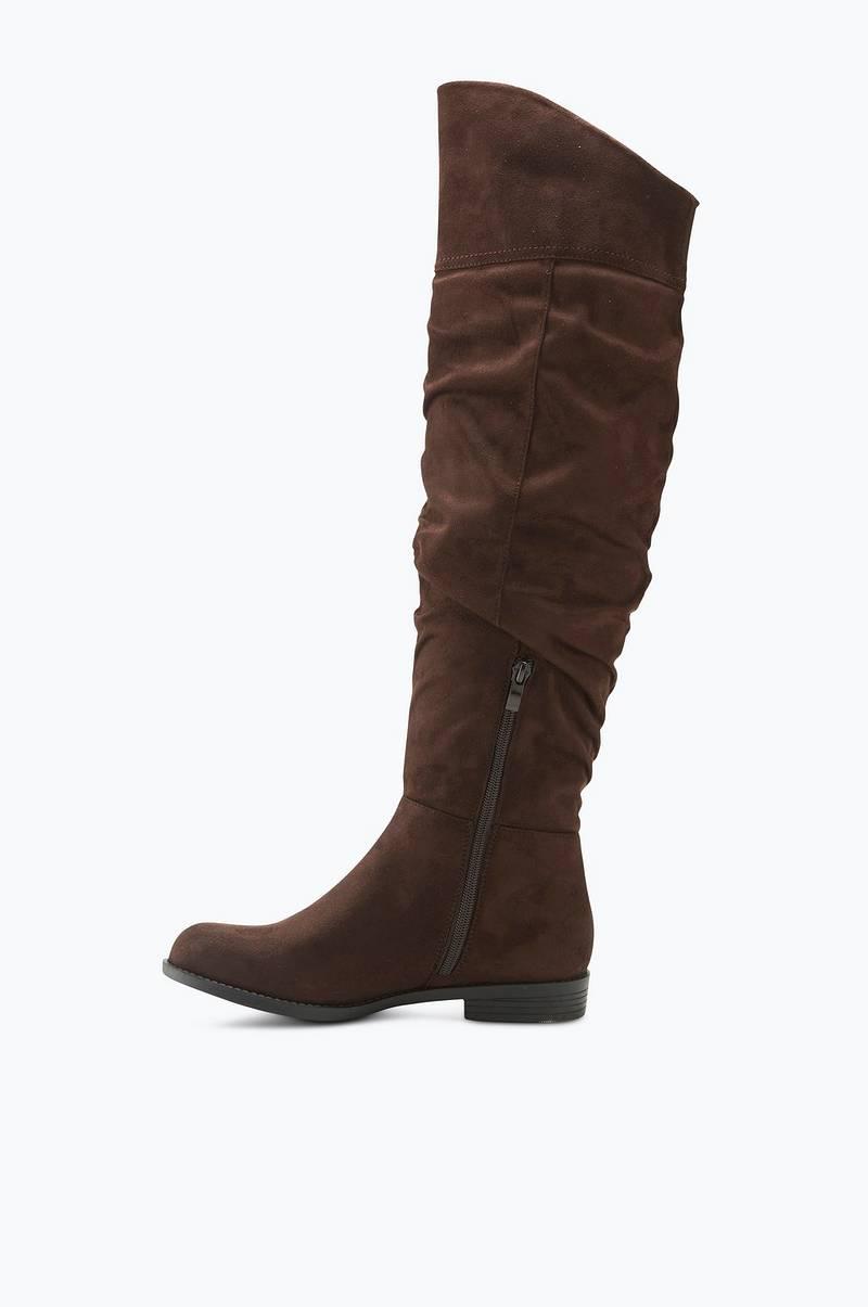 Ellos Shoes Stövlar Knoxville over knee Brun Dam Ellos.se