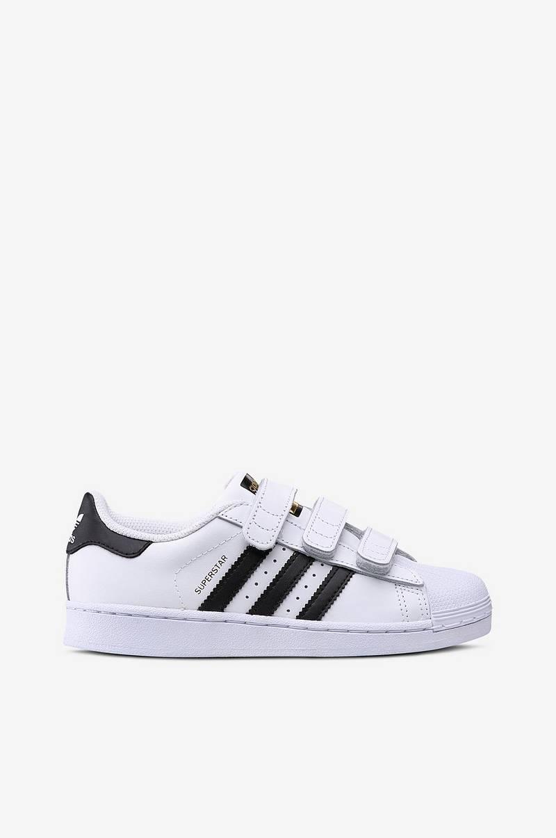 Superstar Foundation Shoes | ADIDAS | Svart läder, Läder och