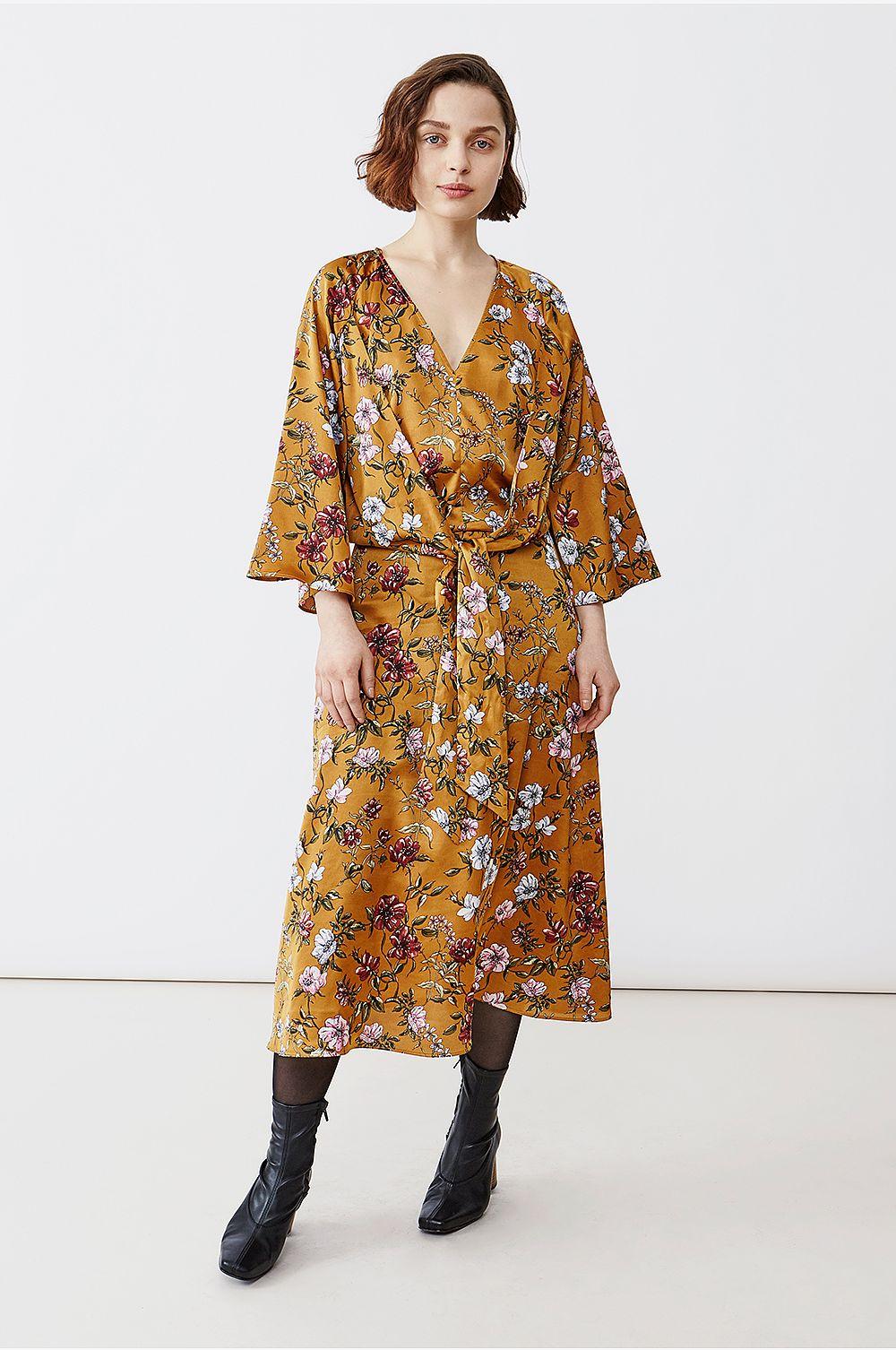 49bcdc5db976 Twist & Tango Maxiklänning Maxine Dress - orange - - - Dam b00d4f ...