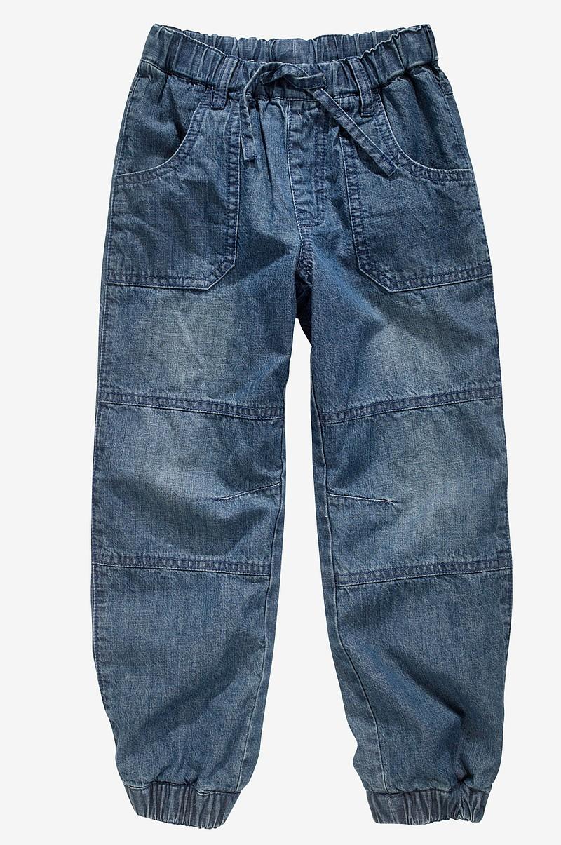 Ellos Kids Jeans loose fit fodrad - Blå - Barn - Ellos.se 1c31b9595794a