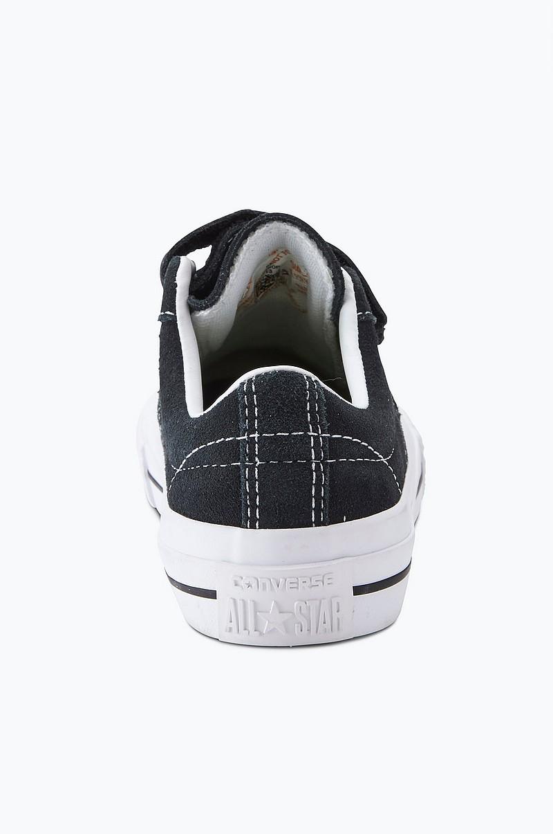Converse Sneakers One Star 3v i mocka - Svart - Barn - Ellos.se 6e6f66457f641