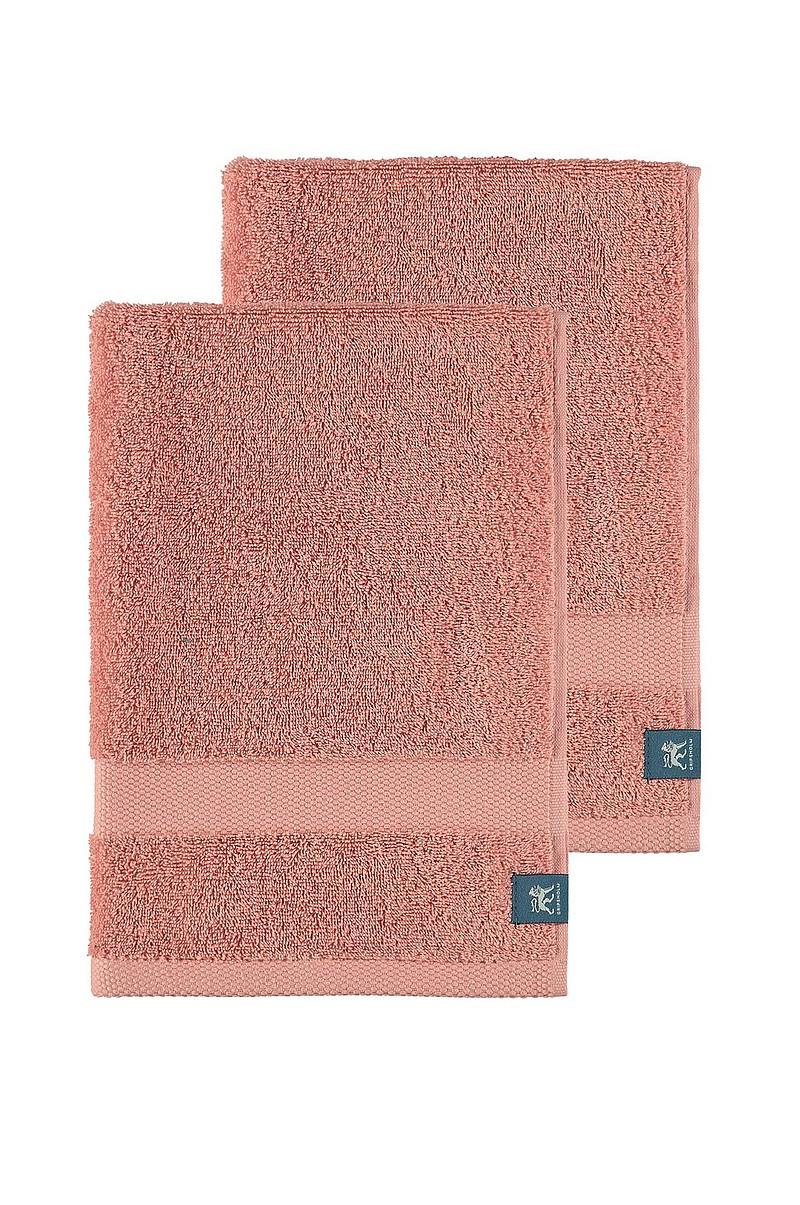 Gripsholm Handduk Gripsholm 2-pack 30x50 cm - Rosa - Hem   inredning ... 04b83a99dc2e2