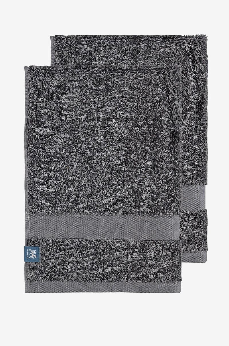 Gripsholm Handduk Gripsholm 2-pack 30x50 cm - Grå - Hem   inredning ... 9b348de2f8473
