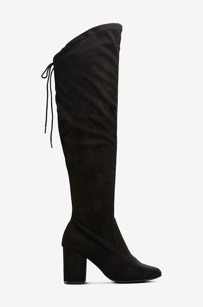 b680205f Ellos Shoes Over knee-støvler Hampton med stretchskaft - Svart ...
