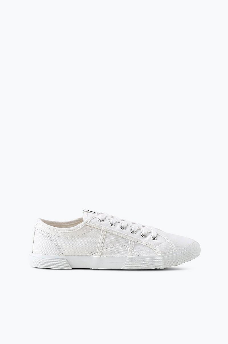 5edb9b858aa Ellos Shoes Sneakers Lace Up i ekologisk bomull - Vit - Dam - Ellos.se