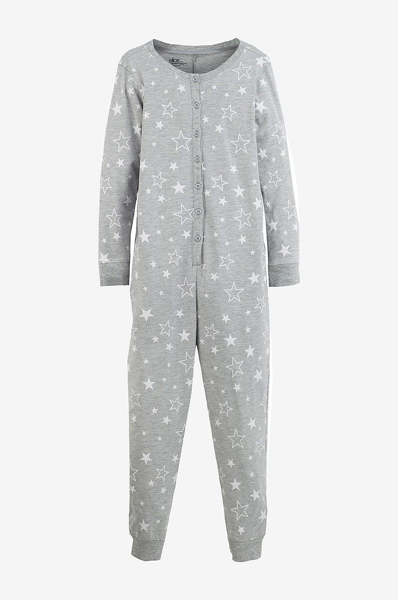 Ellos Kids Hel pyjamas i ekologisk bomull - Grå - Barn - Ellos.se 415ecd4b16b96