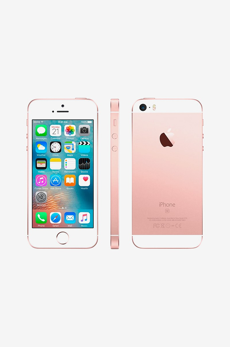 apple iphone se 128 gt rose gold elektroniikka. Black Bedroom Furniture Sets. Home Design Ideas
