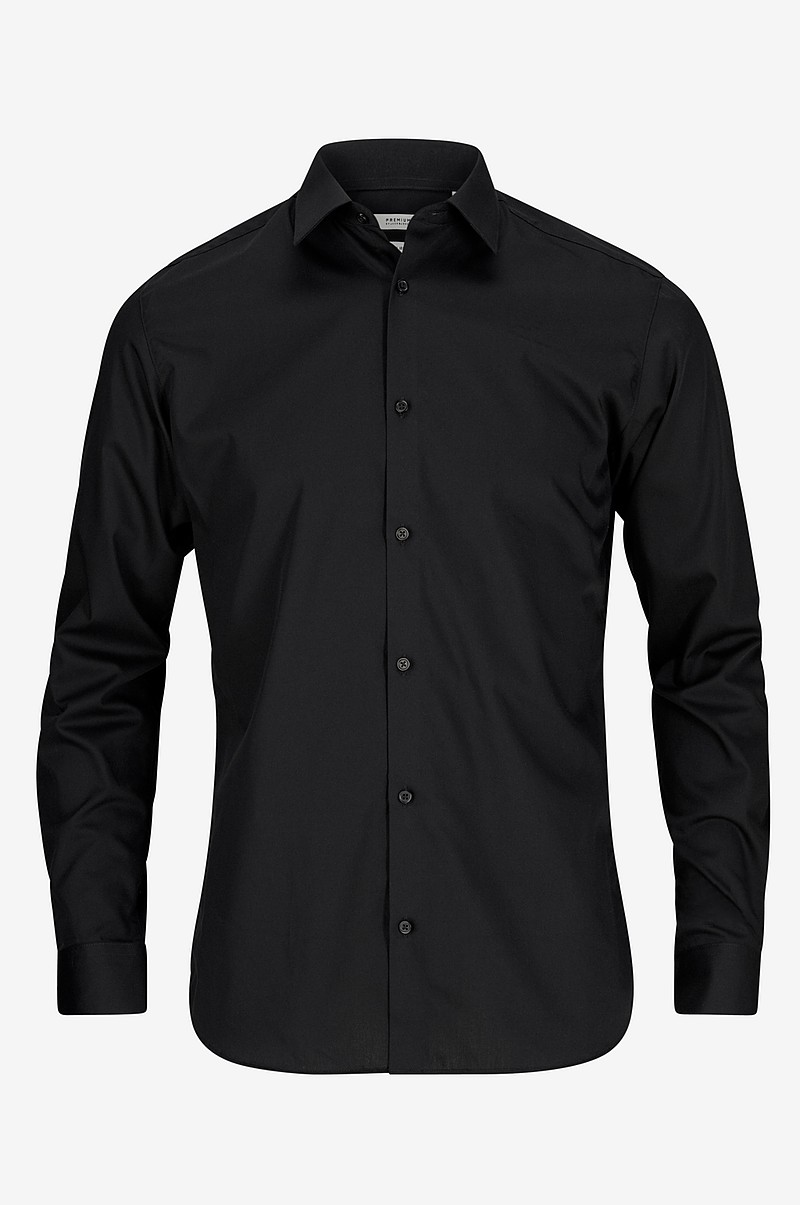 Skjorte jprNon Iron Shirt L/S, slim fit