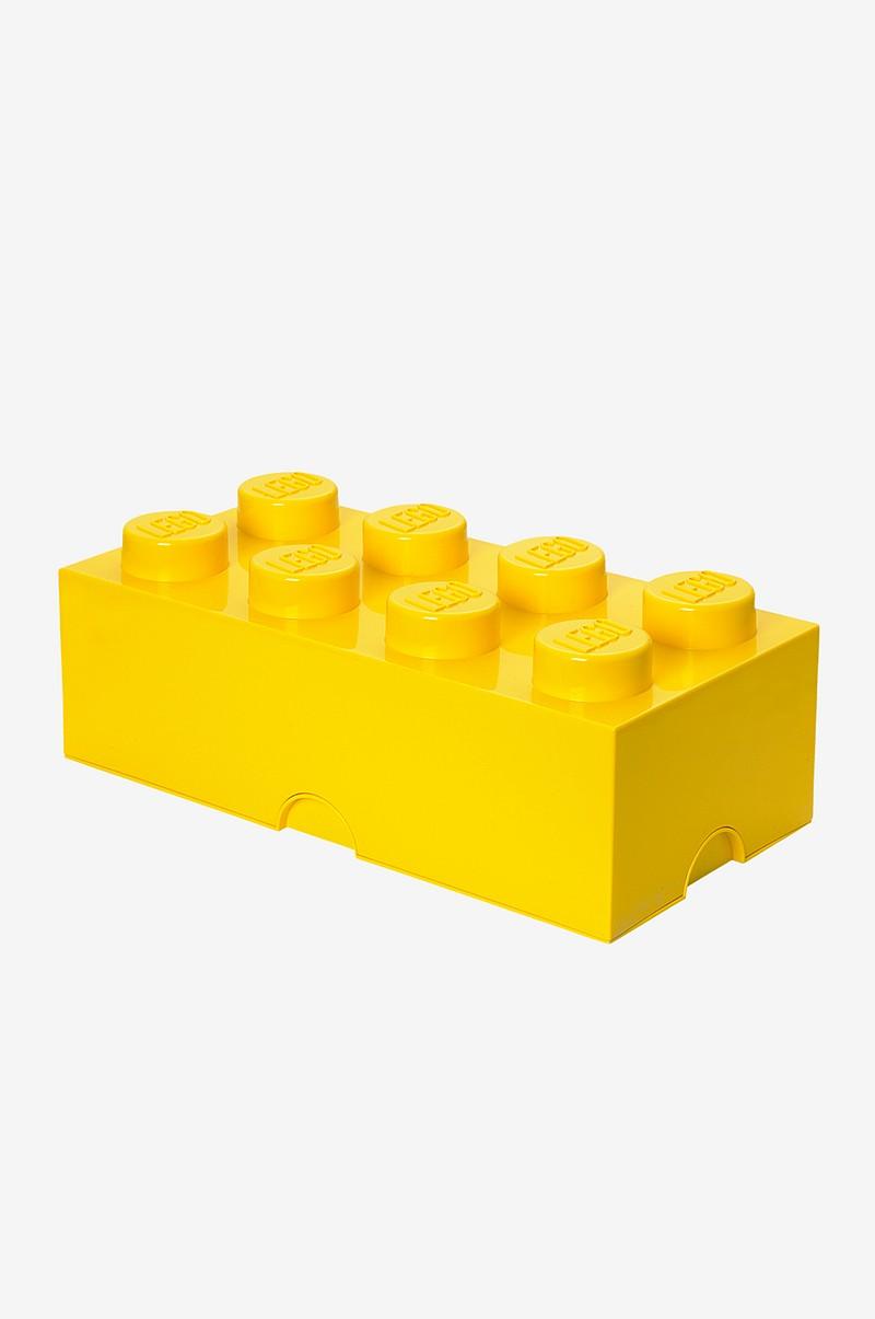 LEGO LEGO opbevaring 8, gul - Børn - Ellos.dk