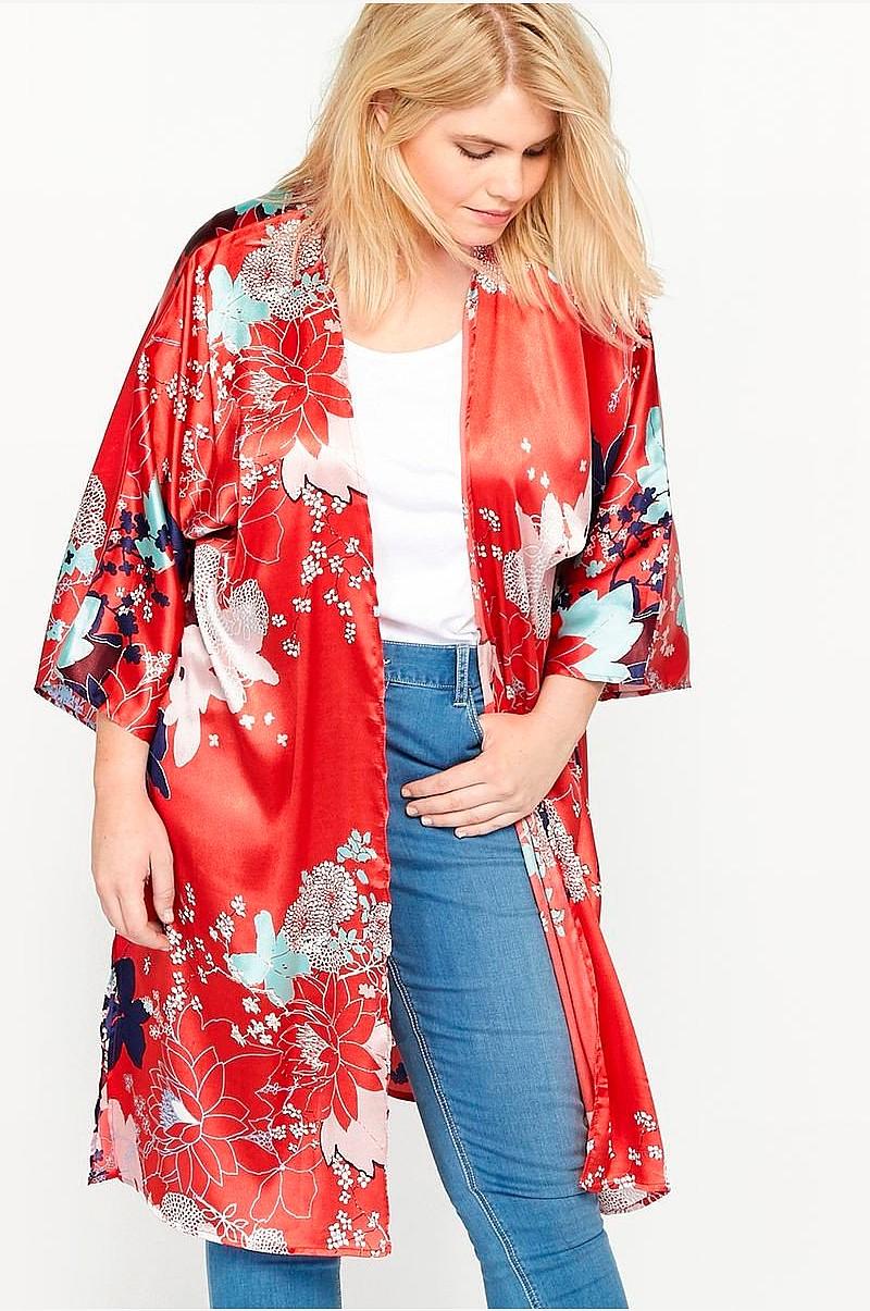 d67e73ff Castaluna Blomstret kimono - Sort - Dame - Ellos.dk